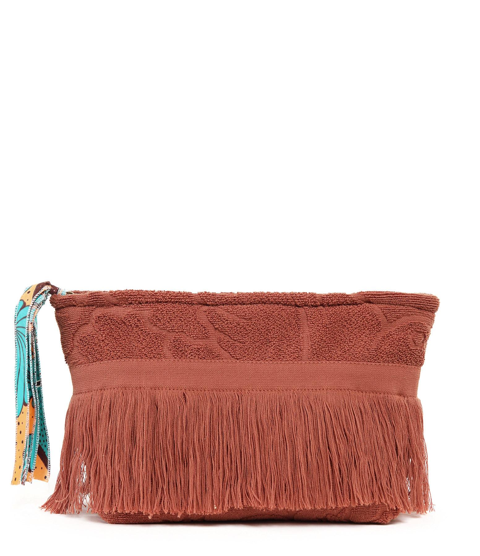 LALLA - Grande Trousse Walakin Hippie Éponge Terracotta