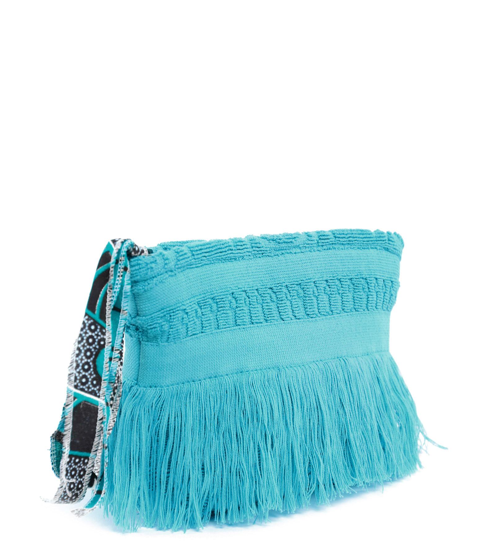 LALLA - Petite Trousse Walakin Hippie Éponge Turquoise