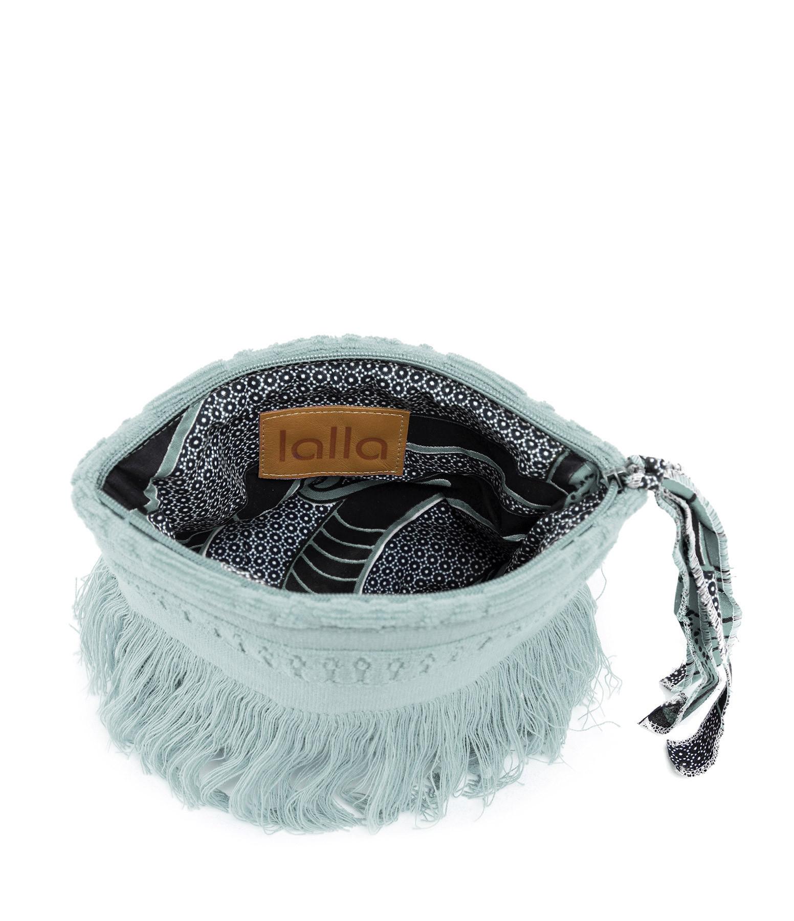 LALLA - Petite Trousse Walakin Hippie Éponge Bleu Gris