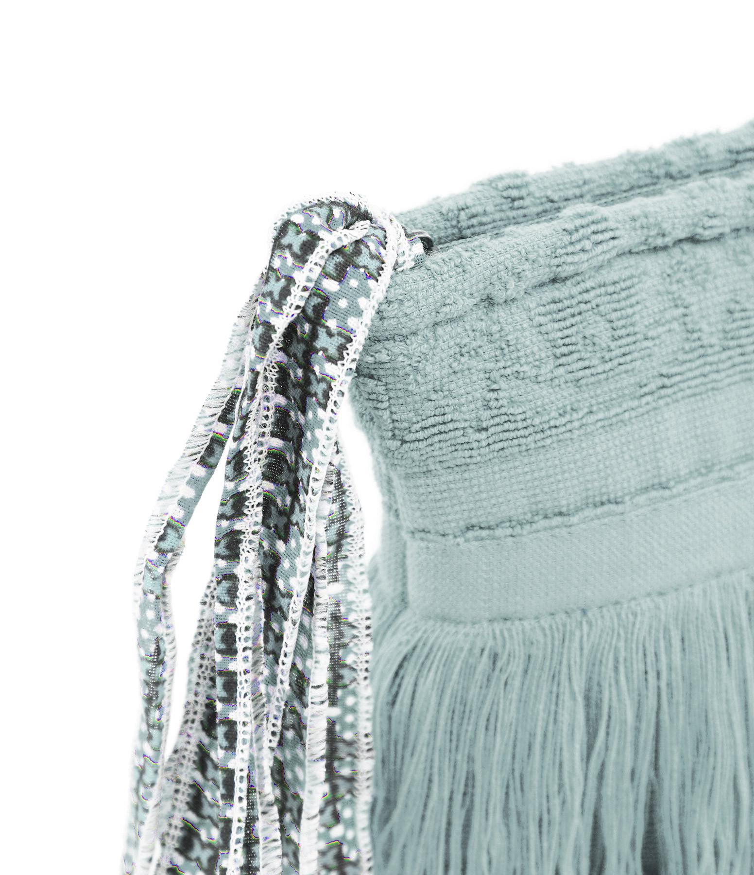 LALLA - Grande Trousse Walakin Hippie Éponge Bleu Gris