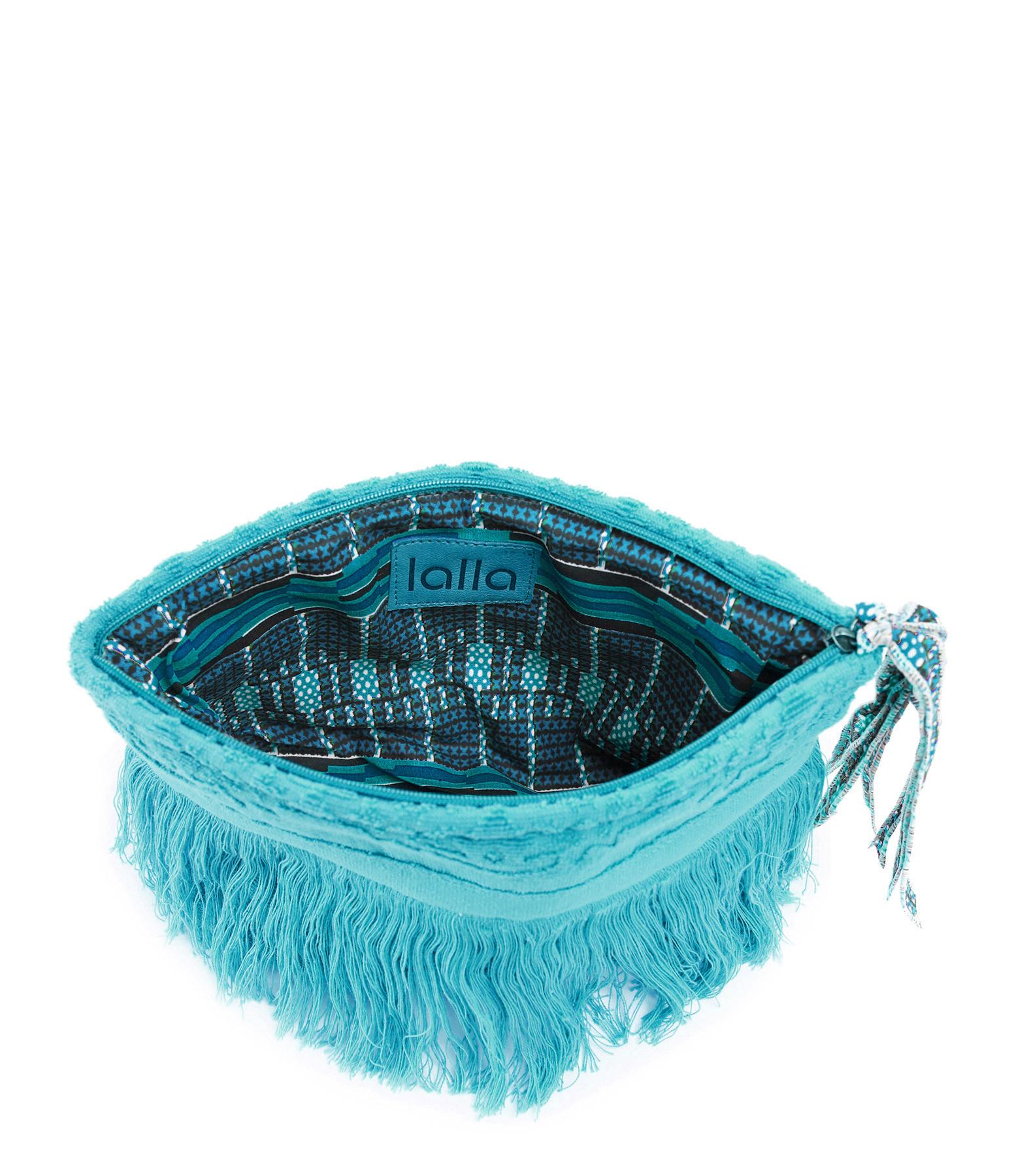 LALLA - Grande Trousse Walakin Hippie Éponge Turquoise
