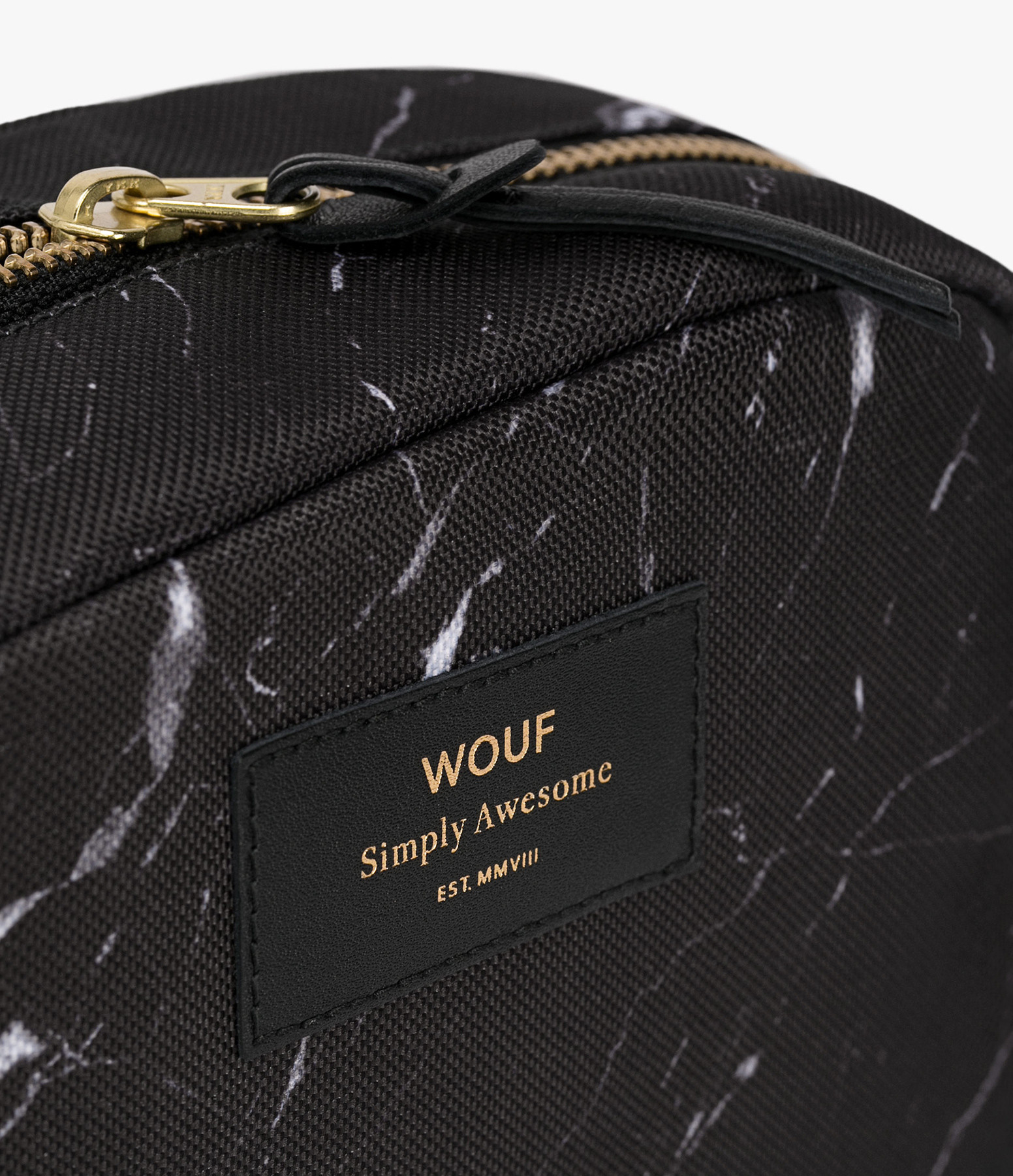 WOUF - Trousse Big Beauty Black Marble