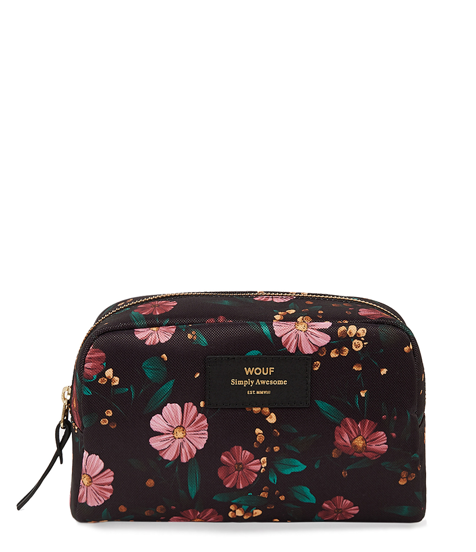 WOUF - Trousse Big Beauty Black Flowers