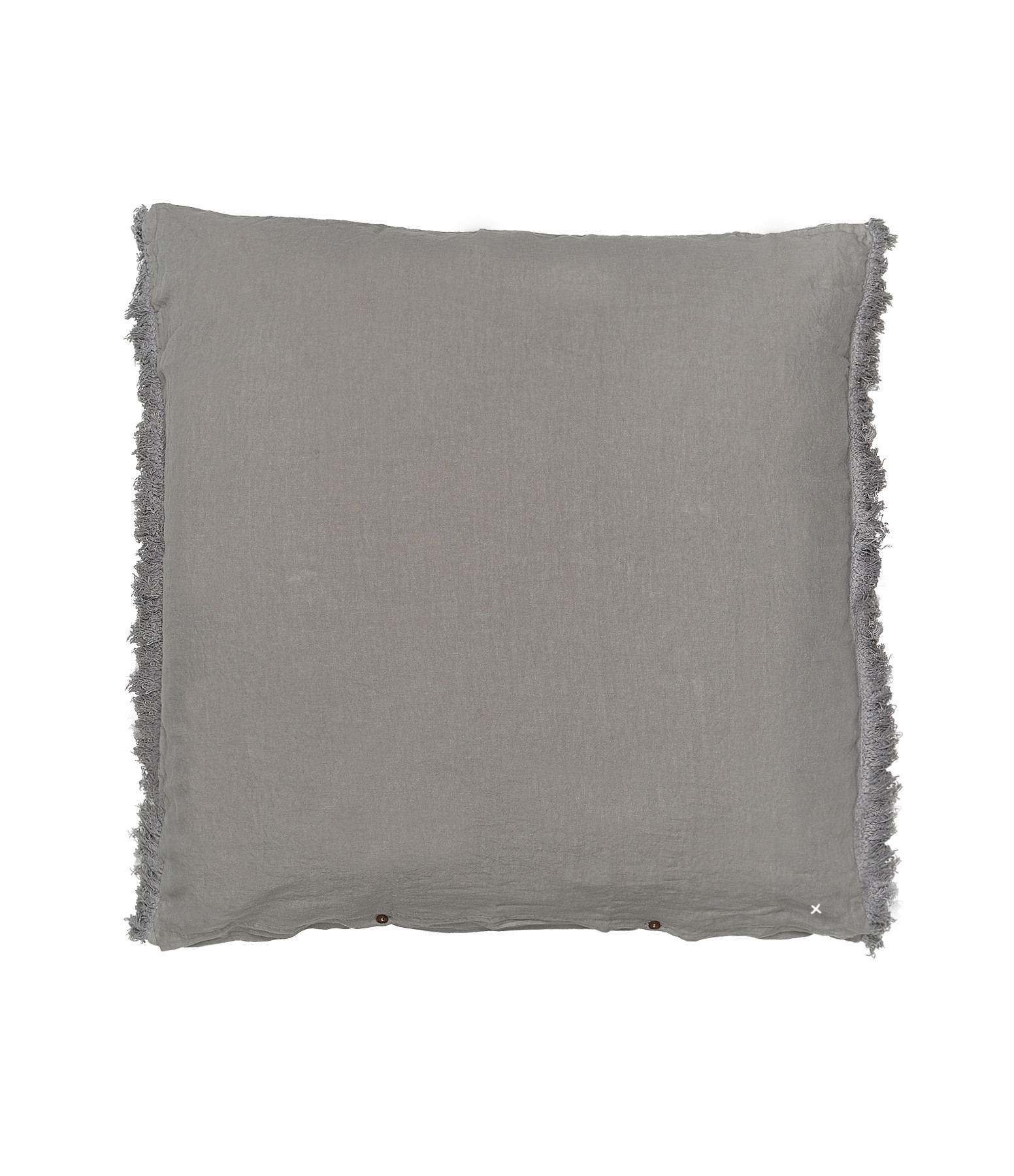 BED AND PHILOSOPHY - Coussin Carré Mellow Lin Orage