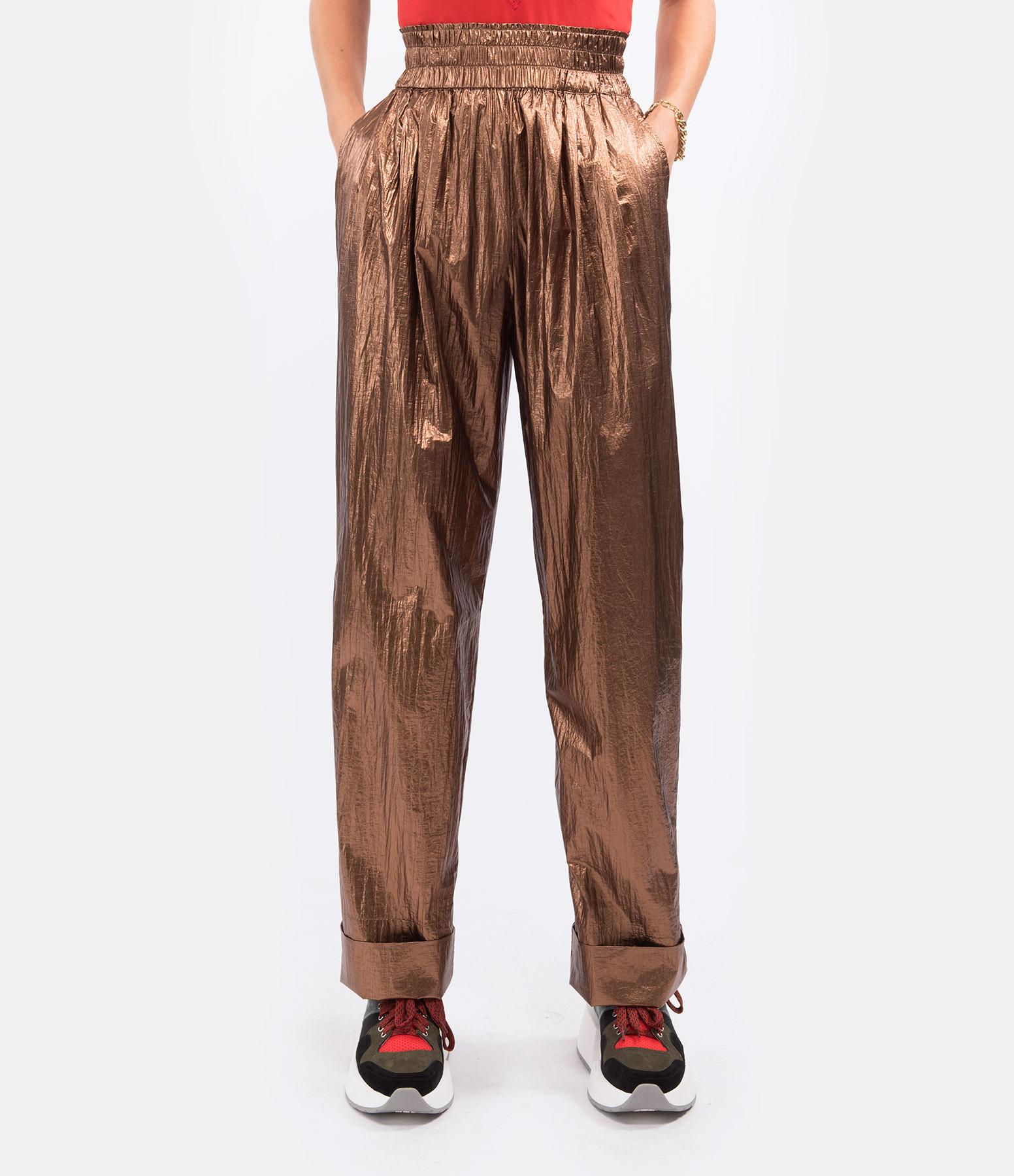 MES DEMOISELLES - Pantalon Ovide Bronze