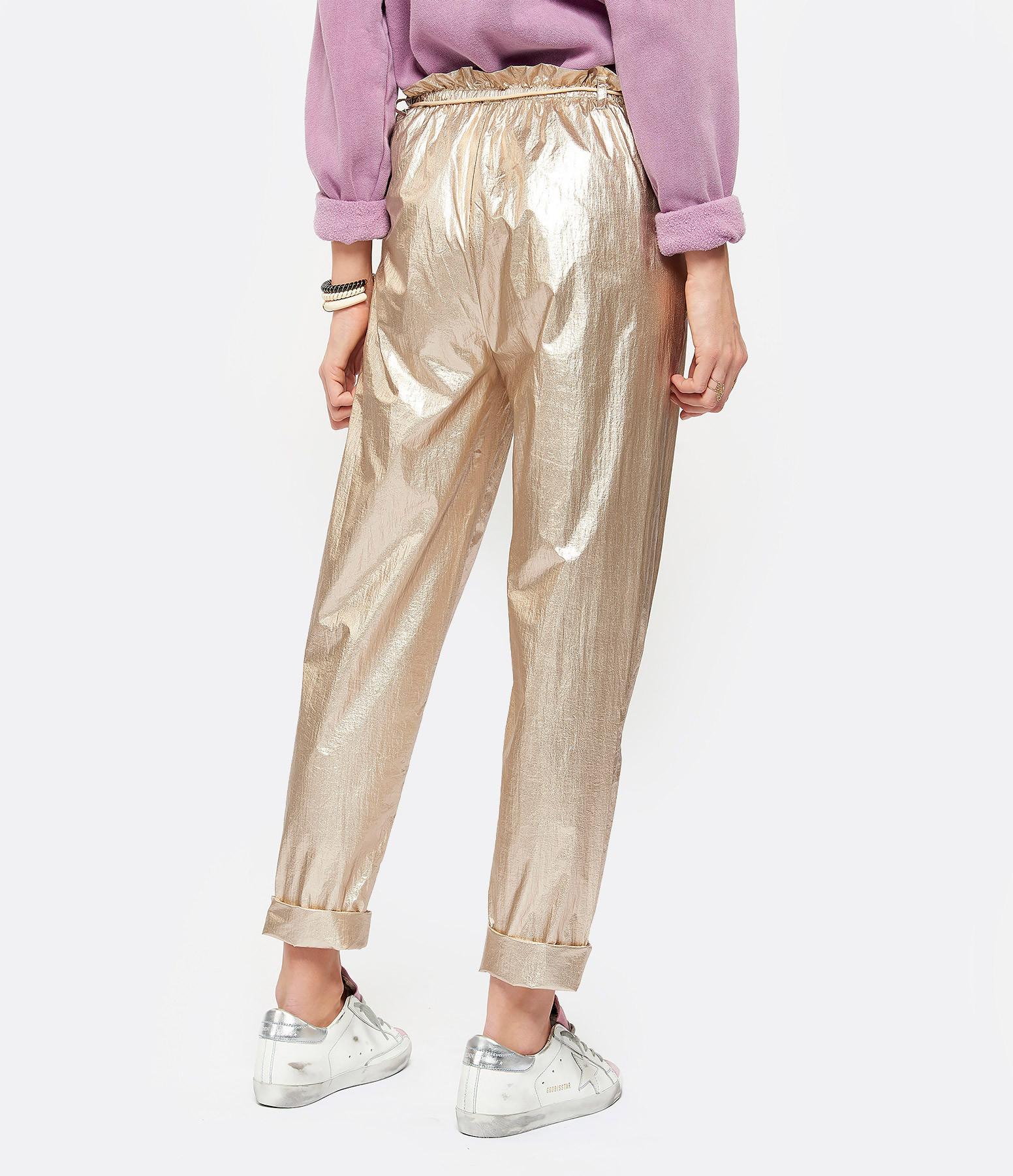 MES DEMOISELLES - Pantalon Saturno Platine