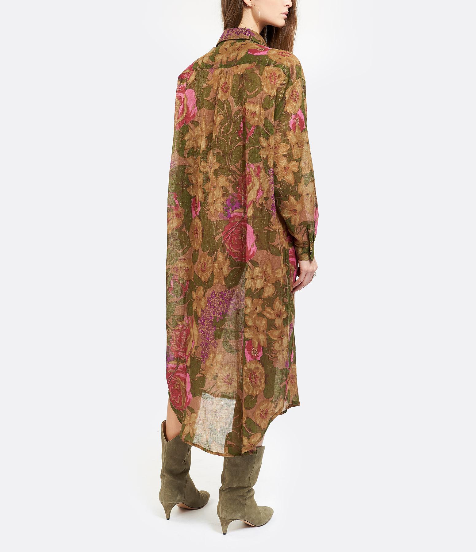 MES DEMOISELLES - Robe Chemise Amaranto Imprimé Floral
