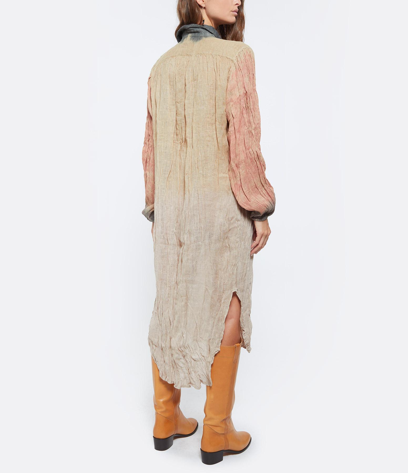 MES DEMOISELLES - Robe Chemise Columbia Nude