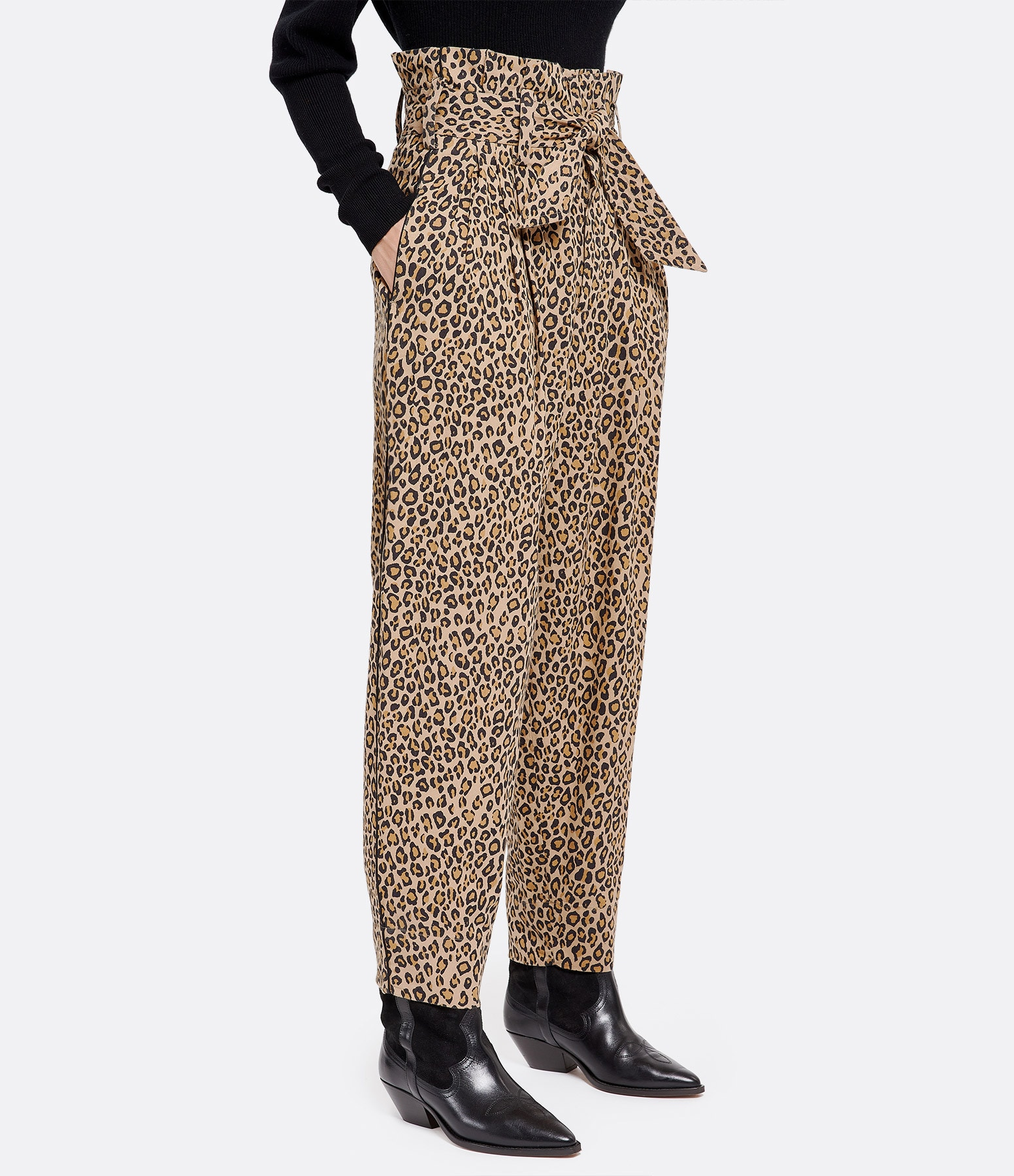 MES DEMOISELLES - Pantalon Cheryl Beige