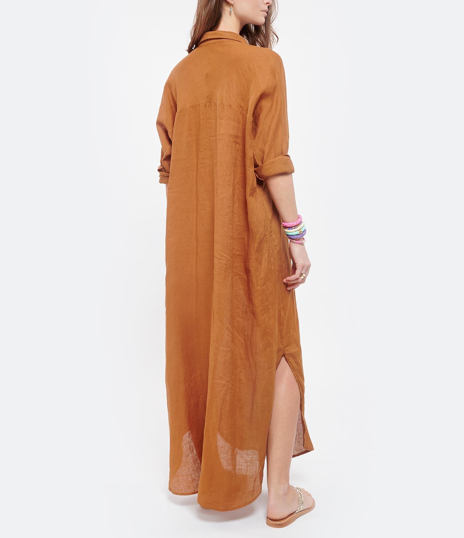 MES DEMOISELLES - Robe Puglia Lin Ambre