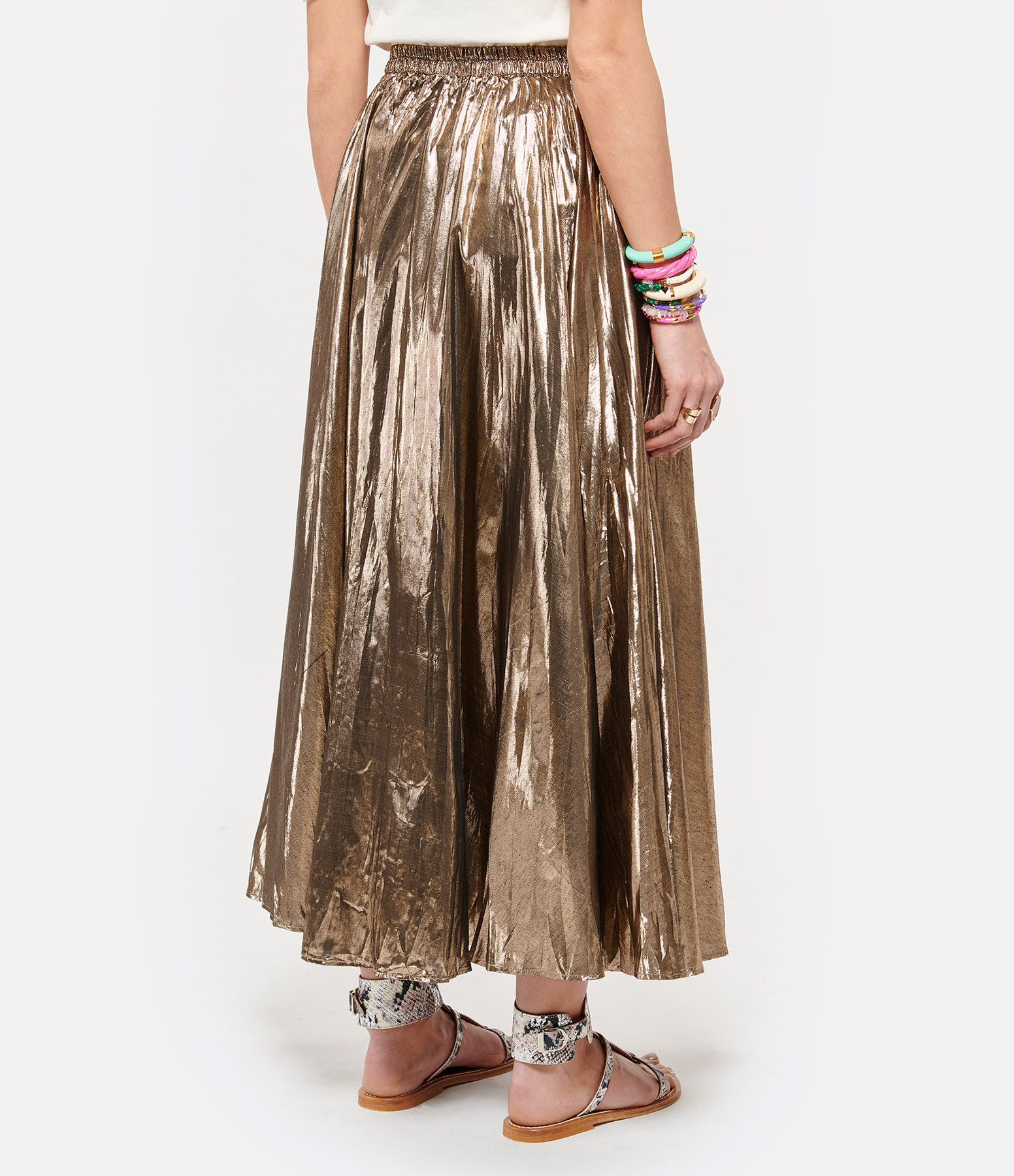 MES DEMOISELLES - Jupe Luxor Coton Platine