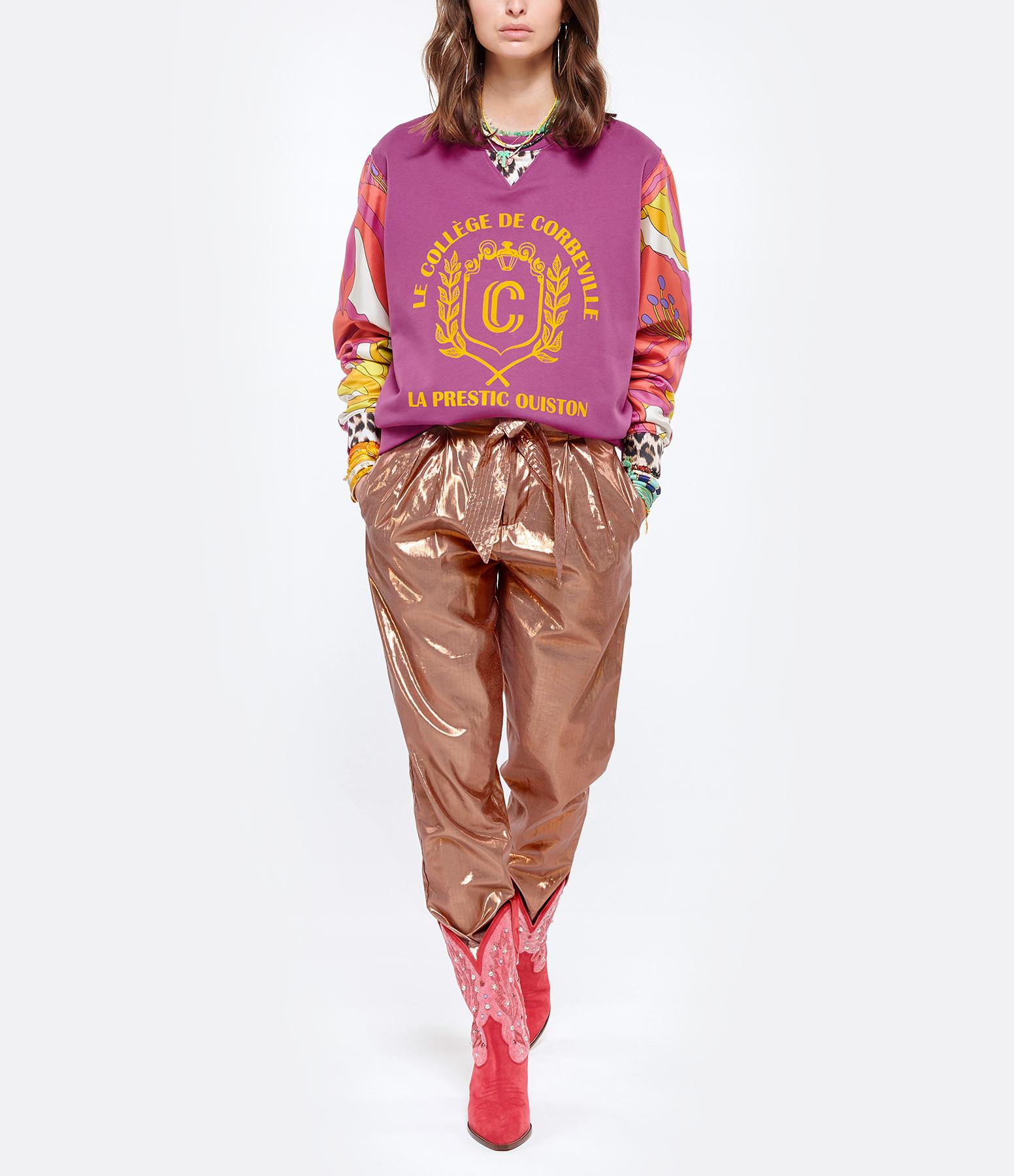 MES DEMOISELLES - Pantalon Viverno Rose