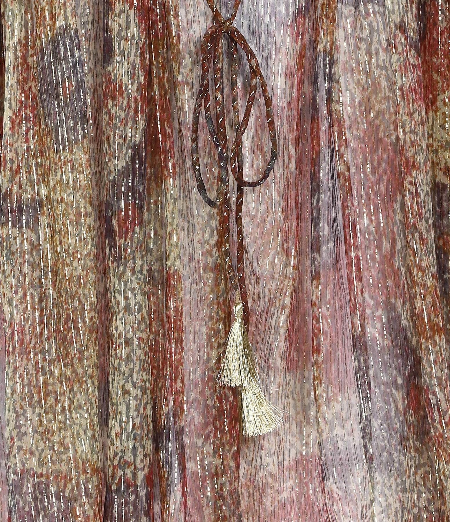 MES DEMOISELLES - Blouse Acacia Imprimé Floral Beige