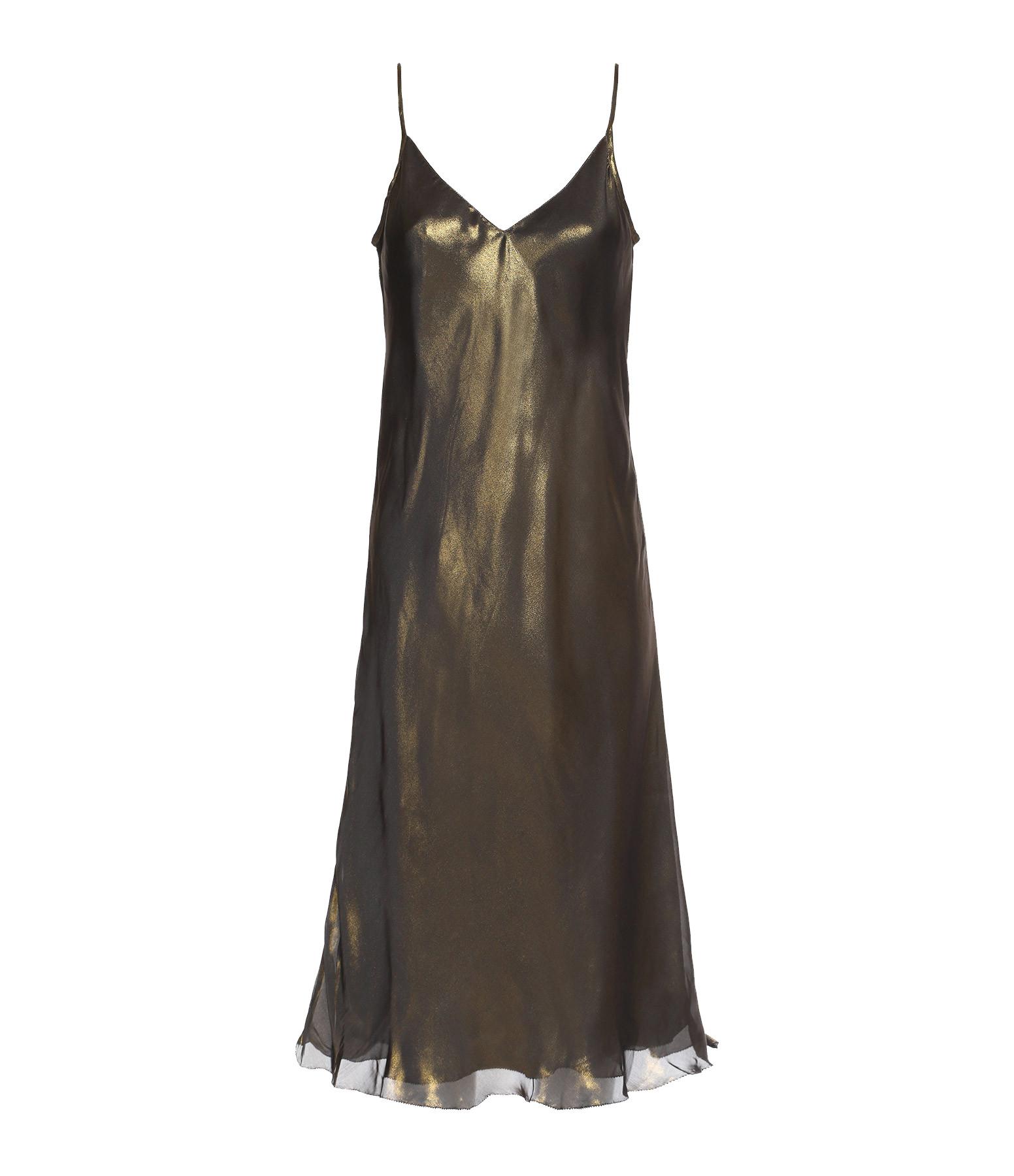 MES DEMOISELLES - Robe Gotha Bronze