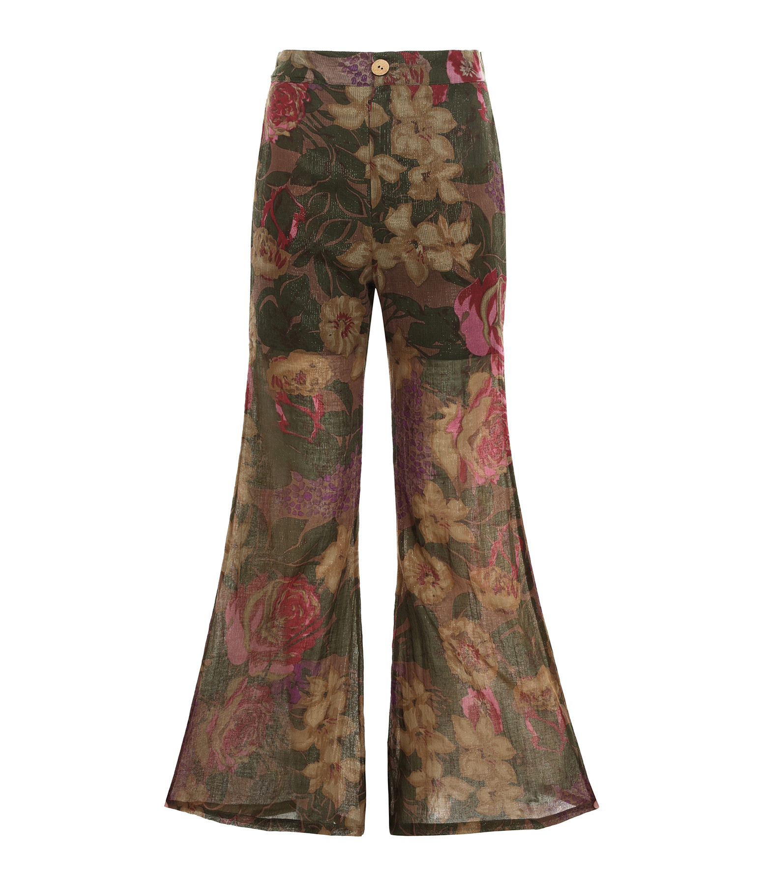 MES DEMOISELLES - Pantalon Aster Imprimé Floral