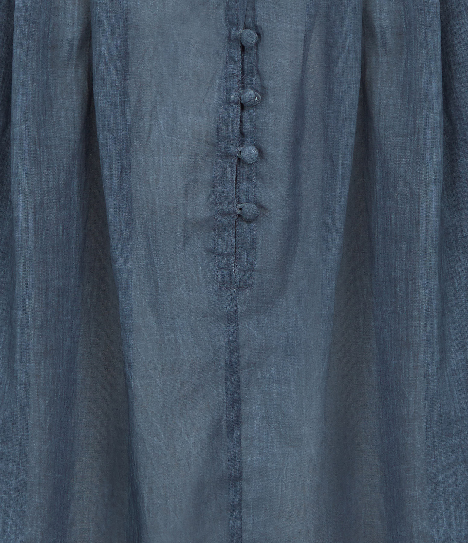 MES DEMOISELLES - Blouse Esmeralda Coton Bleu