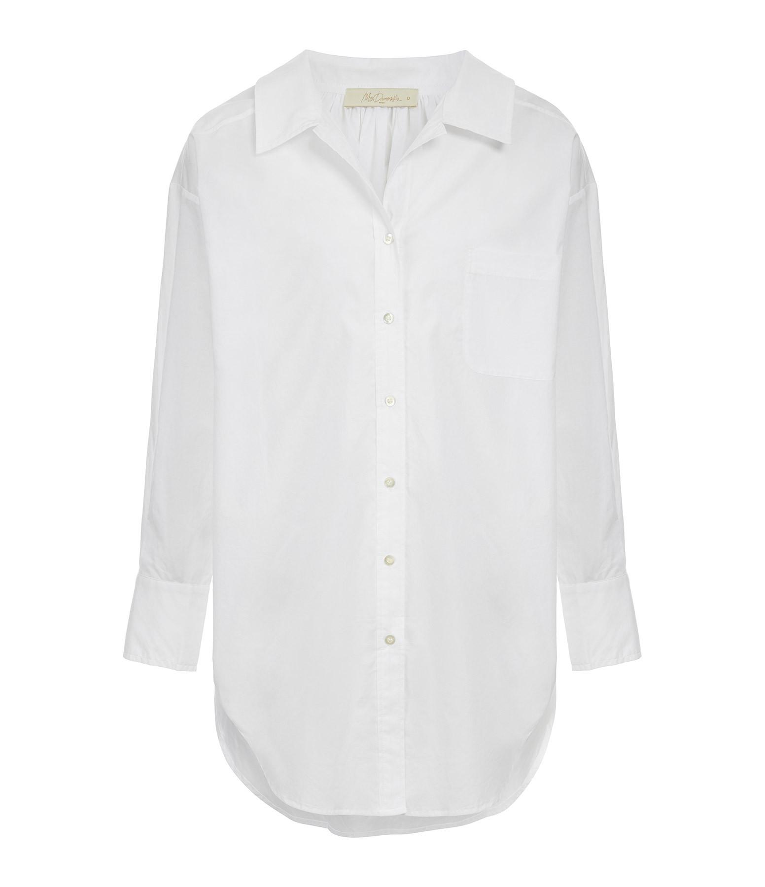 MES DEMOISELLES - Chemise Scharade Coton Blanc