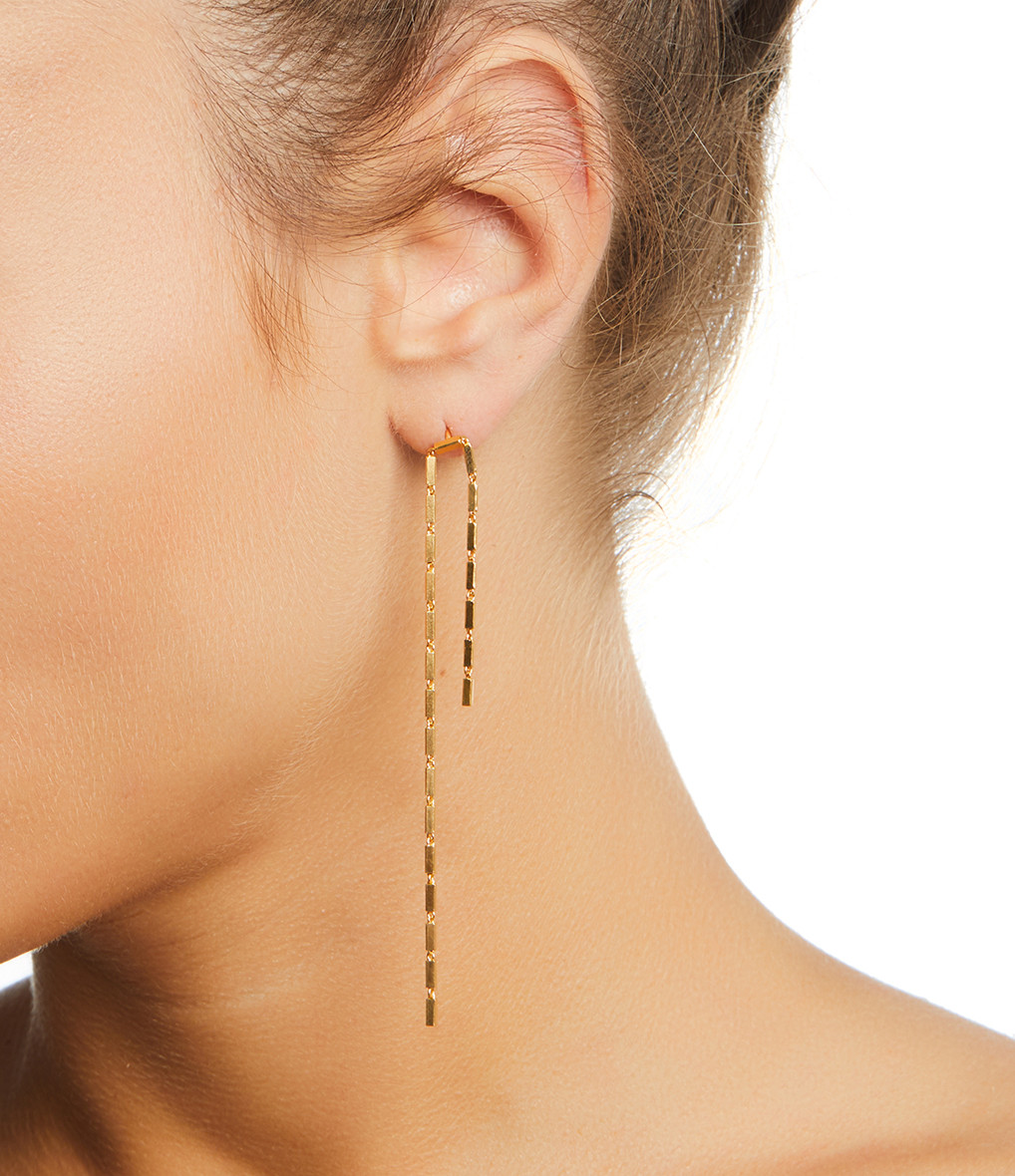 MAGGOOSH - Boucles d'oreilles Disco Open Plaqué Or