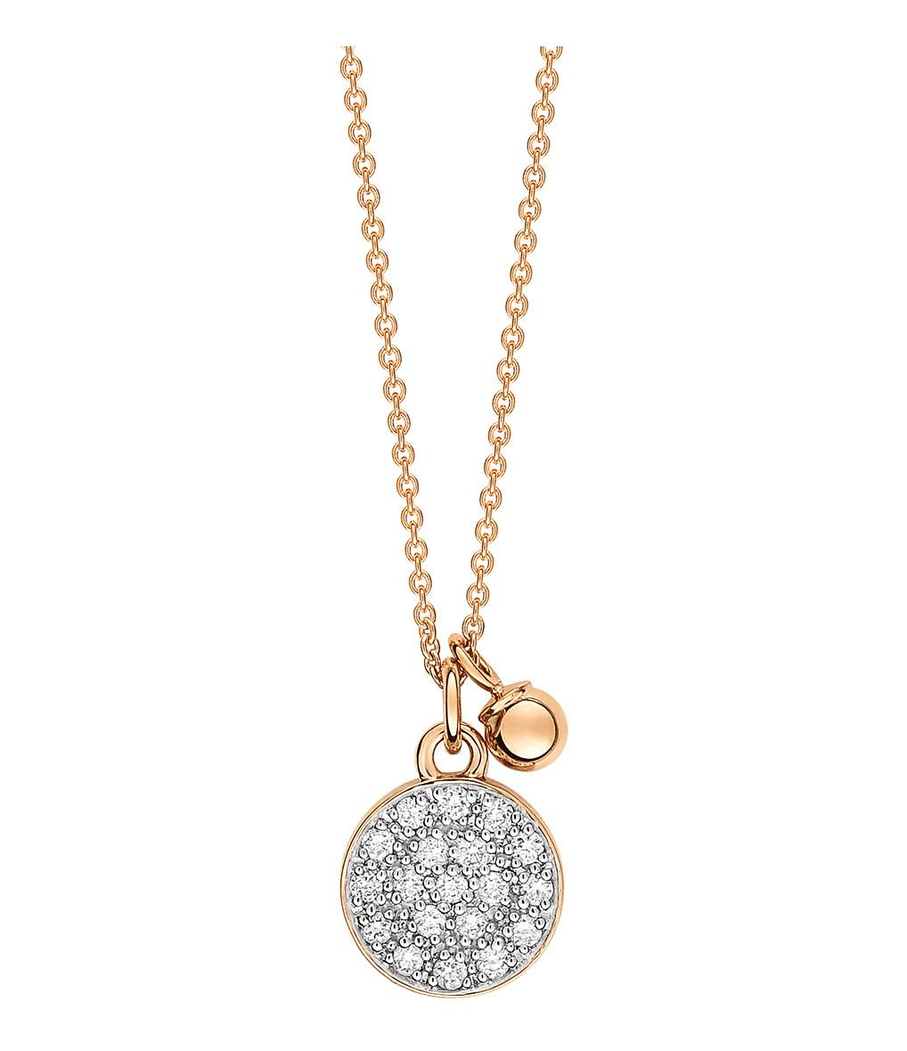 GINETTE_NY - Collier Mini Ever Disc Diamants