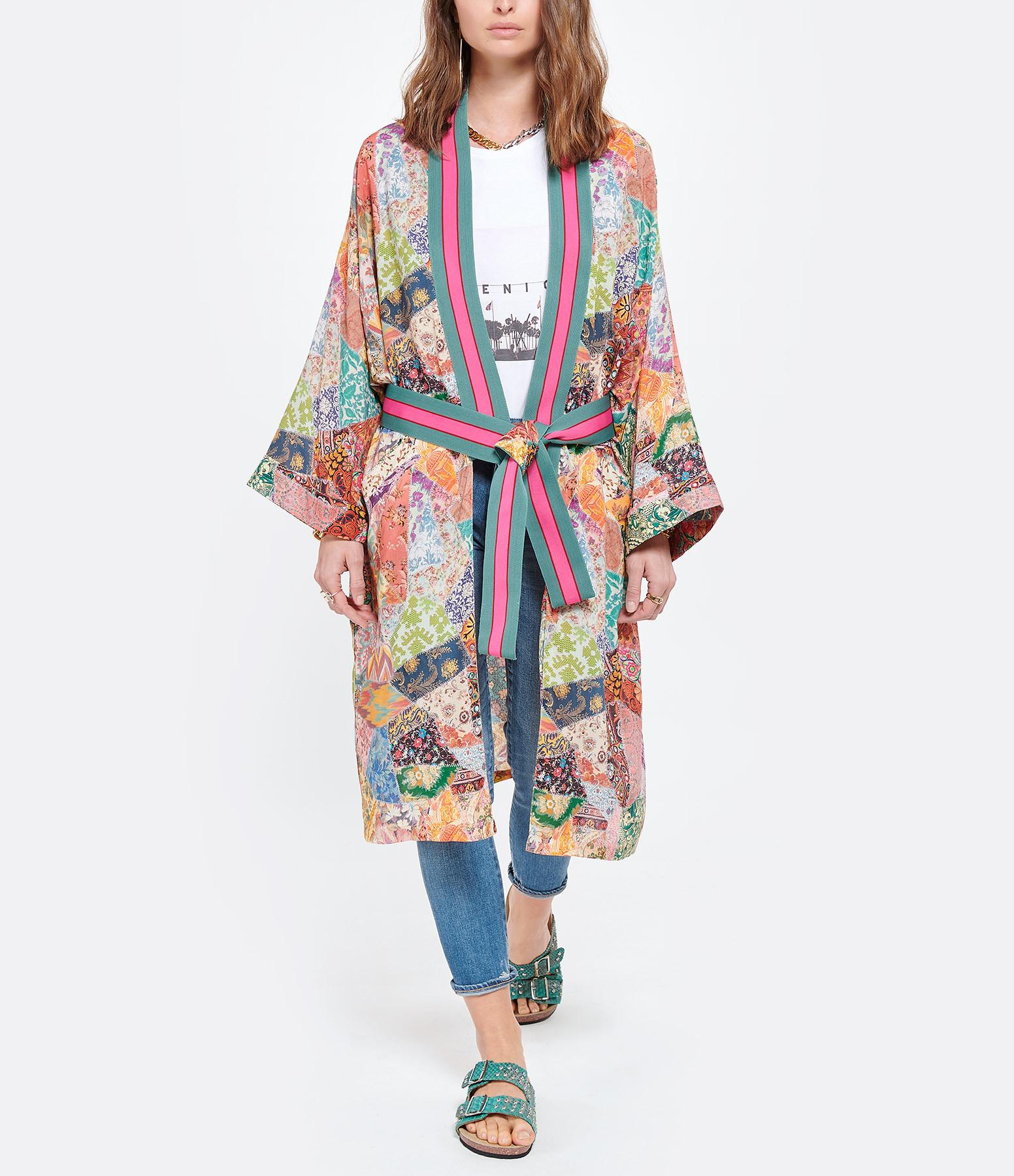 MAISON HAUSSMANN - Kimono Crêpe Kallaw Imprimé