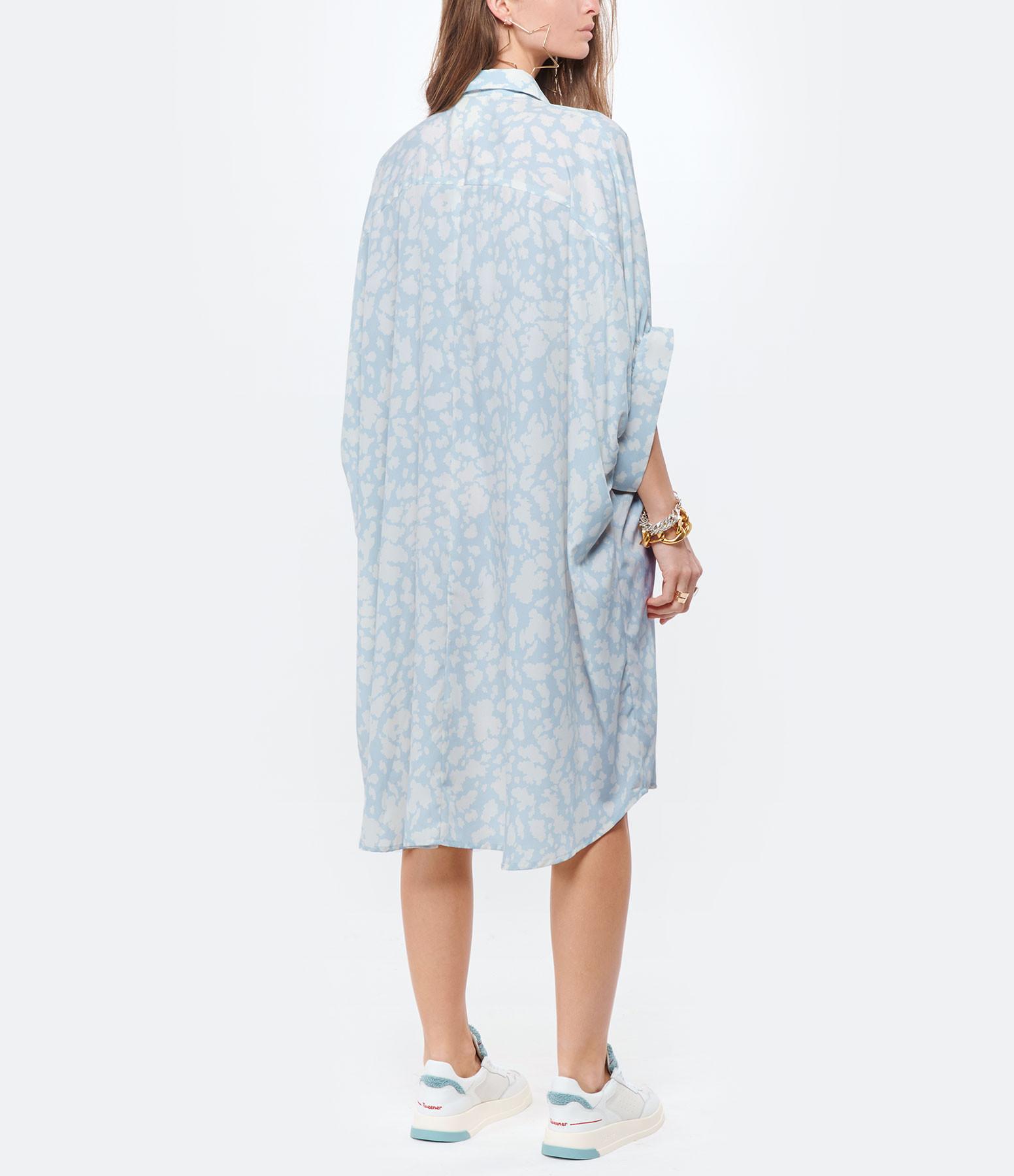 MAISON HAUSSMANN - Robe Crêpe Cloudy Imprimé
