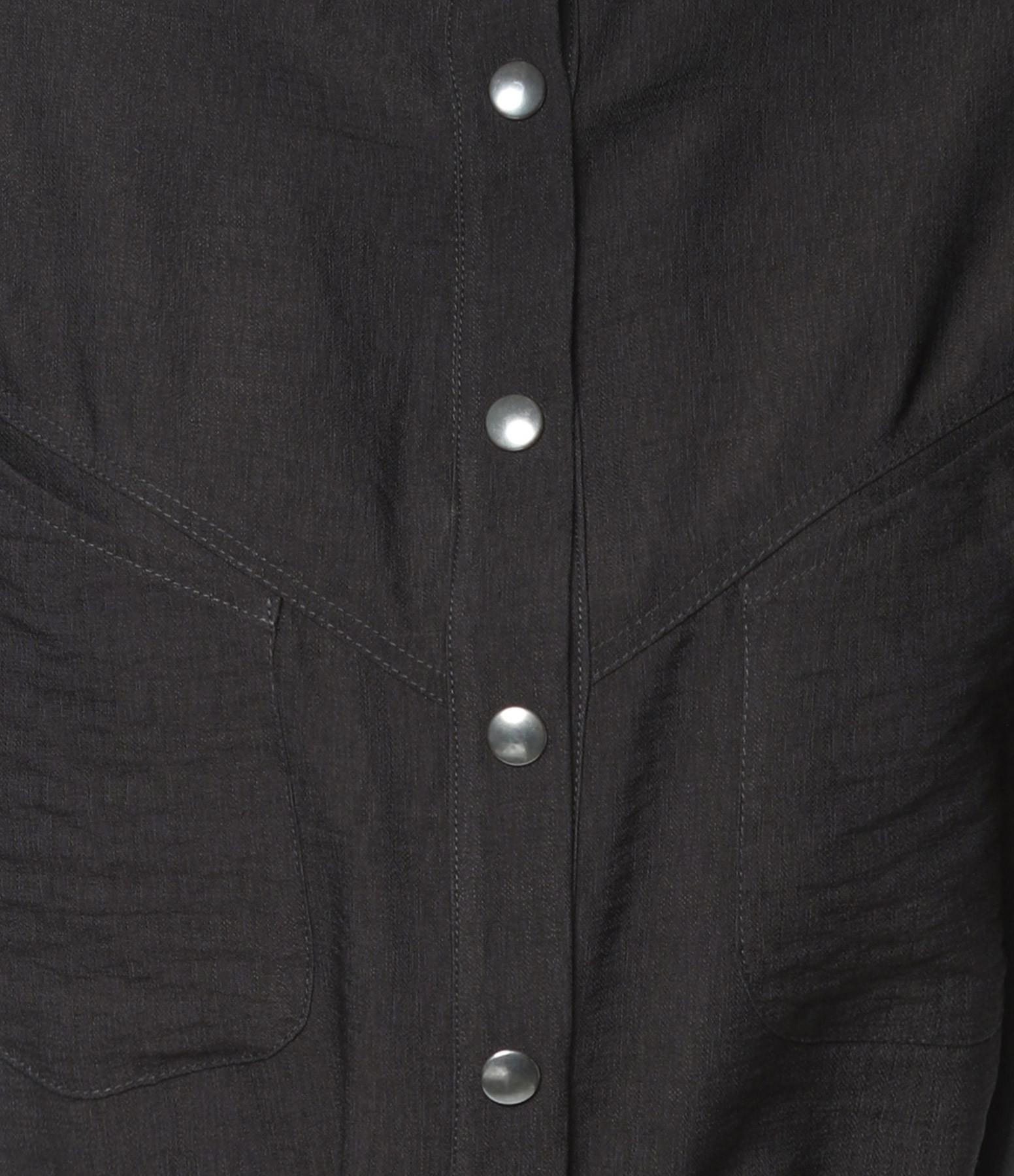 MAISON HAUSSMANN - Robe Boule Ceinturée Noir