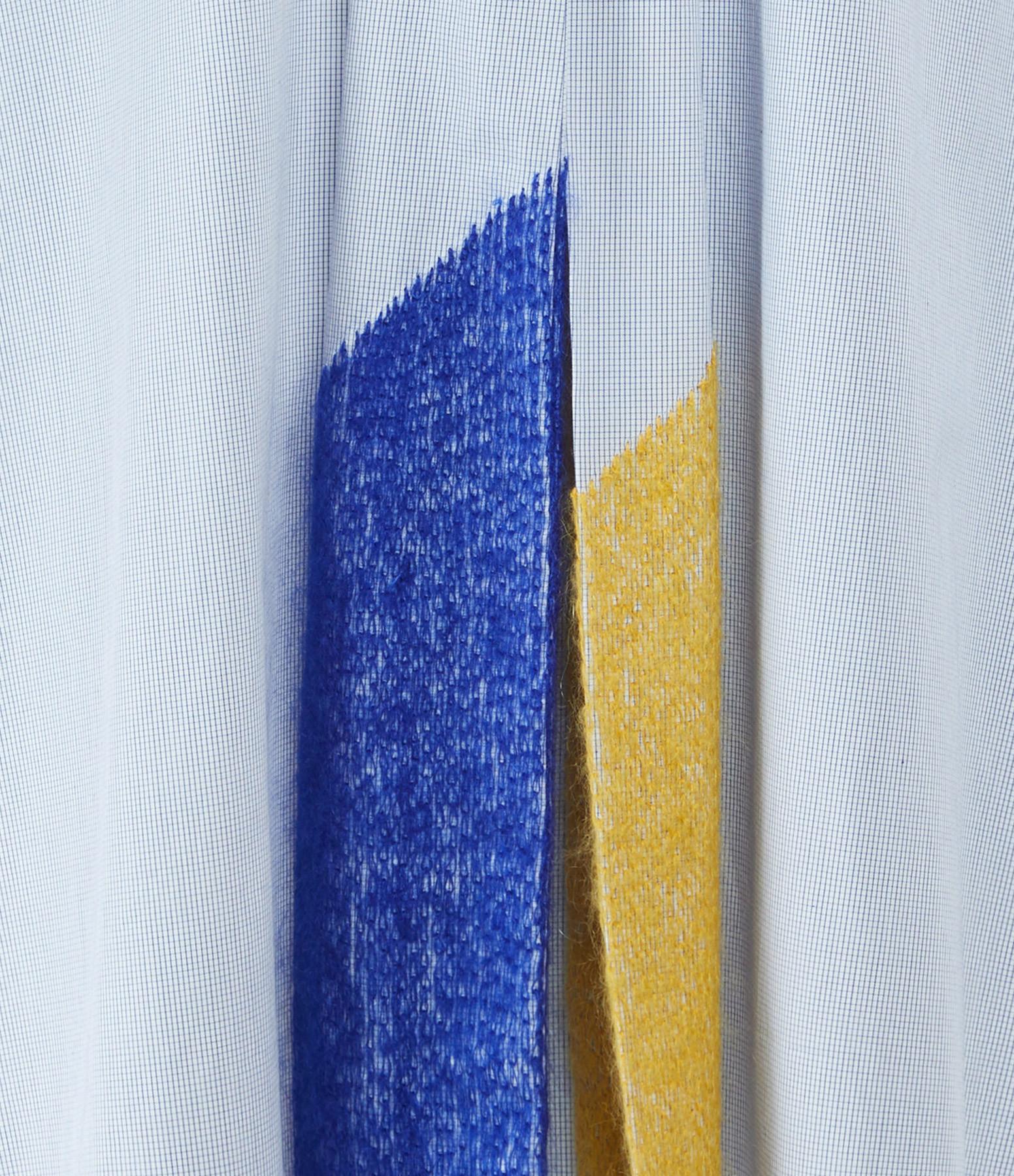 MII - Chemise Oversize Longue Bleu