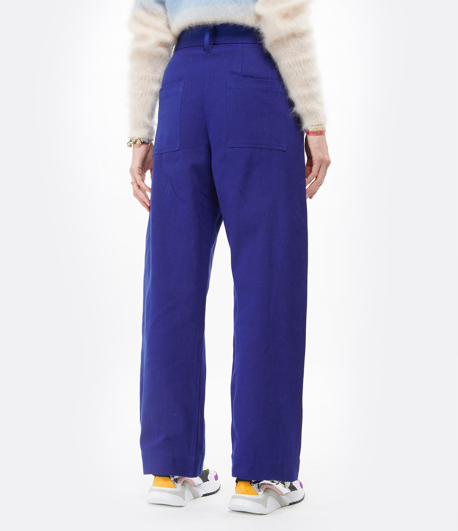 MII - Pantalon Miti Denim Biologique Bleu Lapis