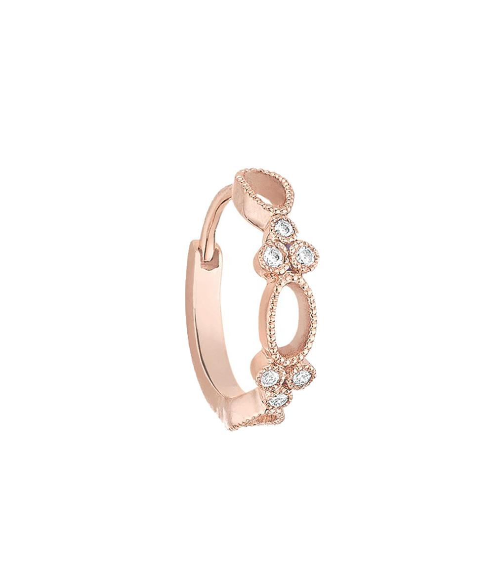 STONE PARIS - Mini Créole Volupté Or Diamants (vendue à l'unité)
