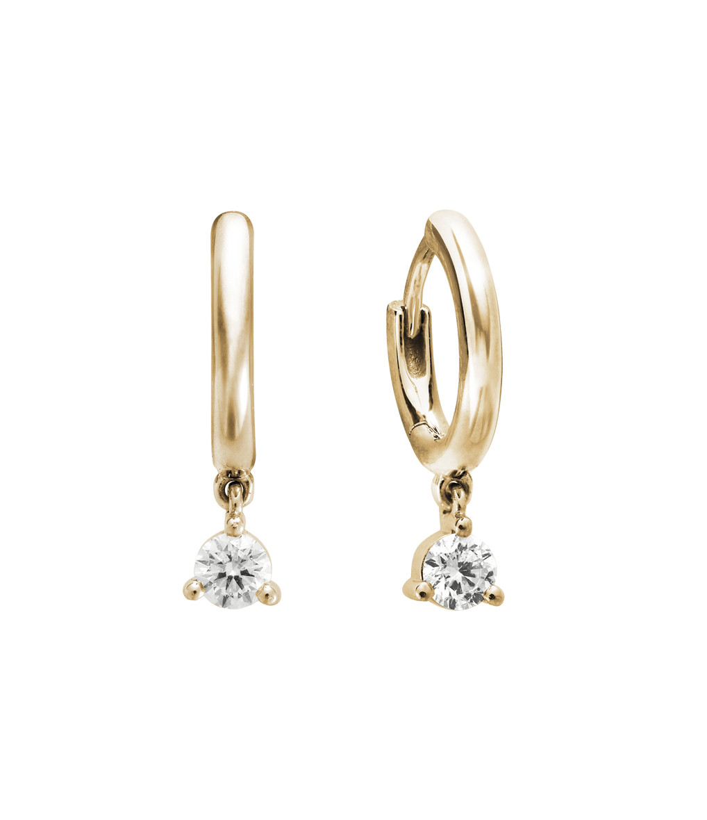 nouveau produit c7094 cb0ce Mini Créole Infinity Or Diamants(vendue à l'unité)