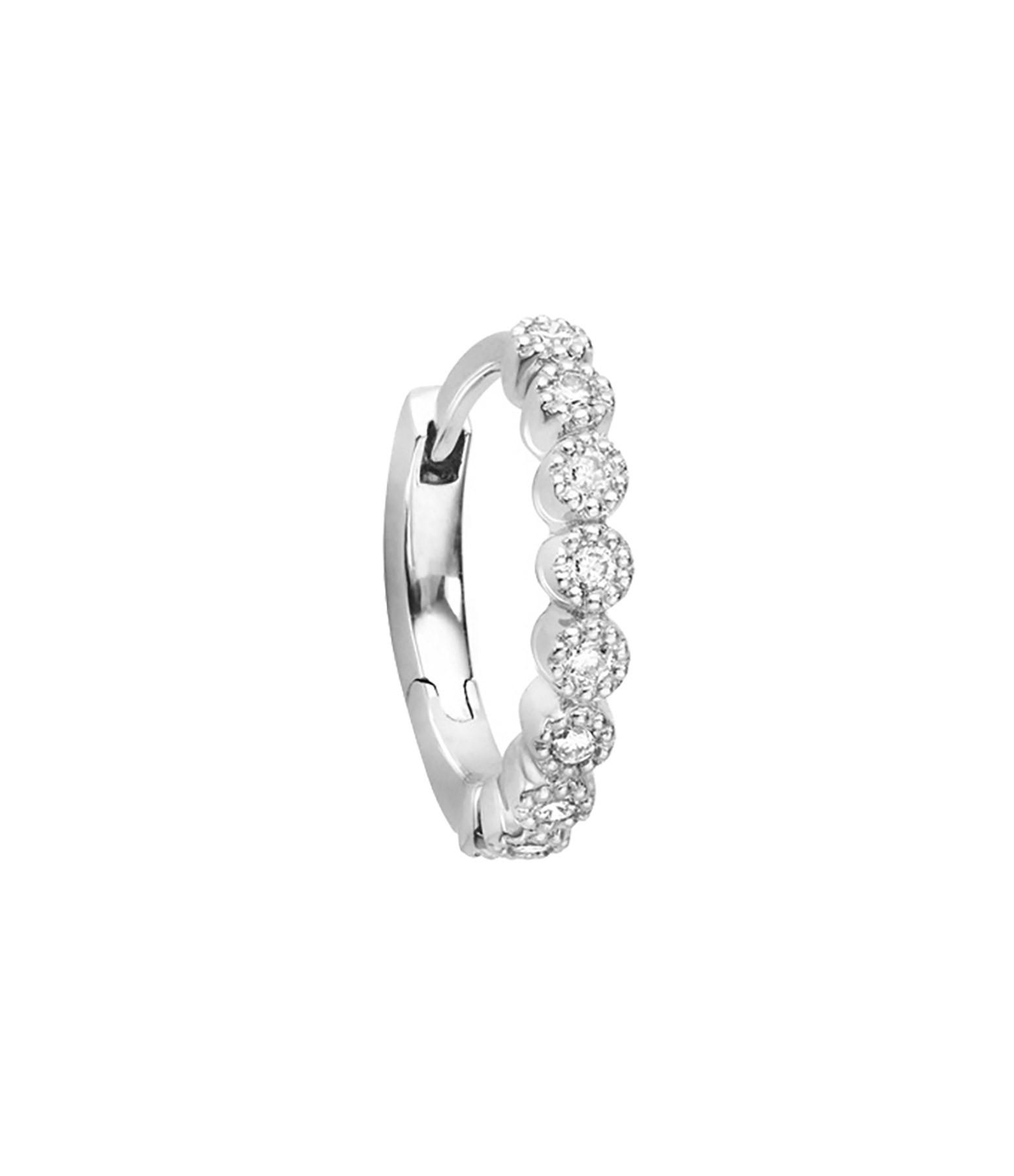 STONE PARIS - Mini Creole Madame Bovary Or Diamants (vendue à l'unité)