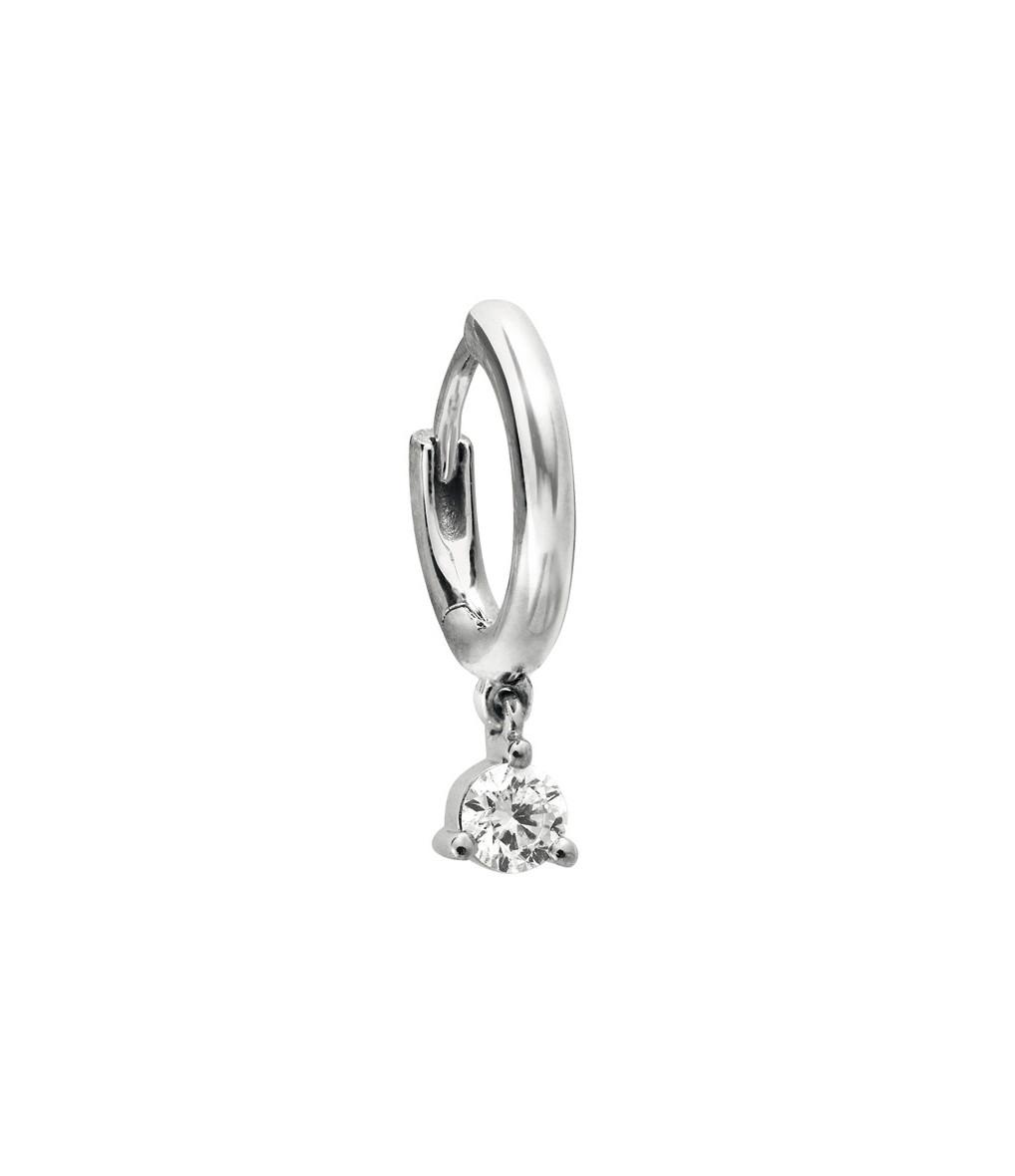 STONE PARIS - Mini Créole Infinity Or Diamants(vendue à l'unité)
