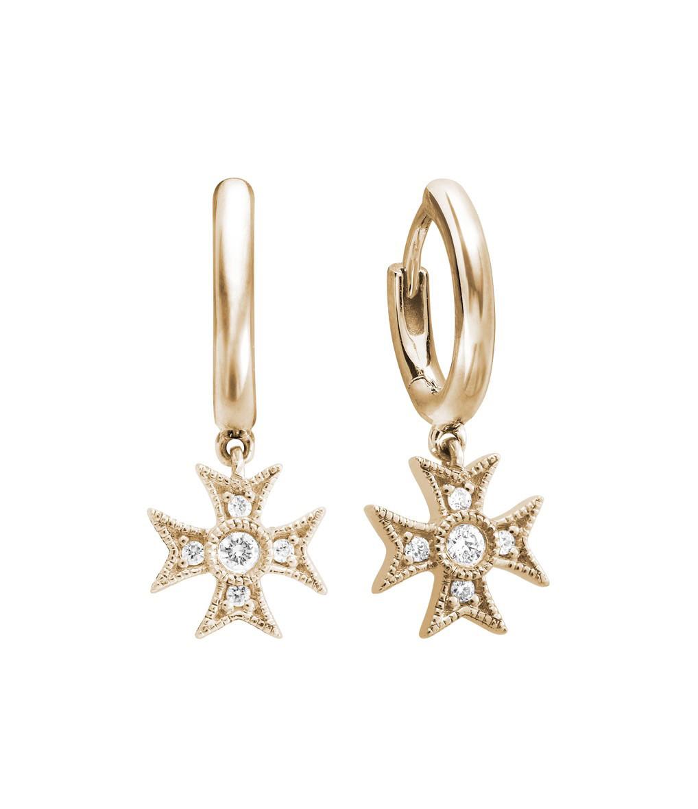 STONE PARIS - Mini Créole Yesterday Or Diamants (vendue à l'unité)