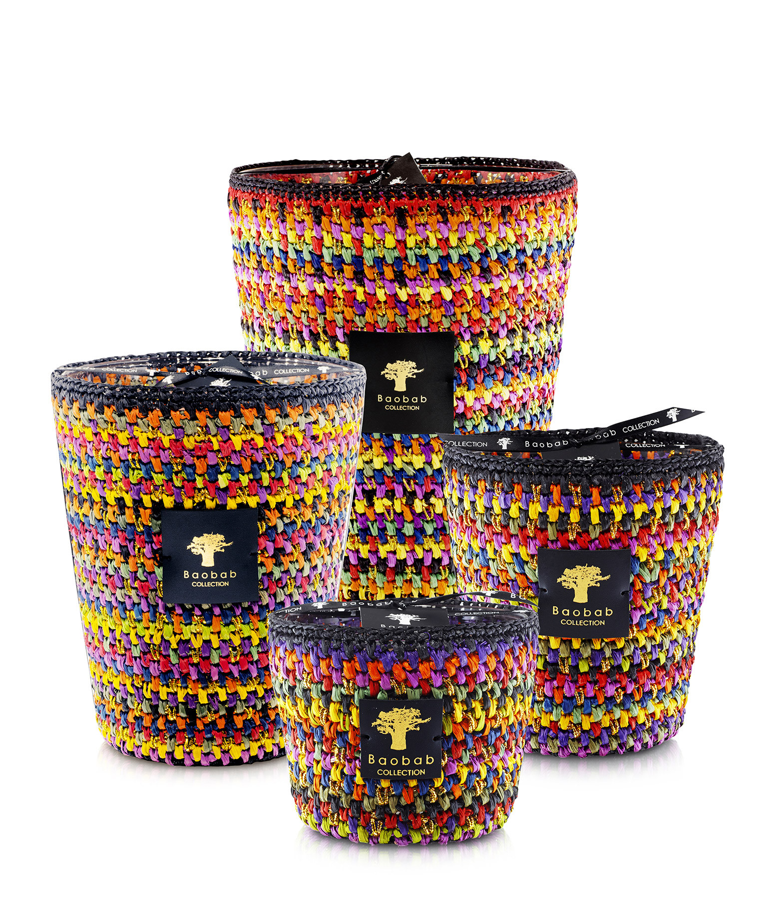 BAOBAB COLLECTION - Bougie Max 16 Modernista Raffia Mitia