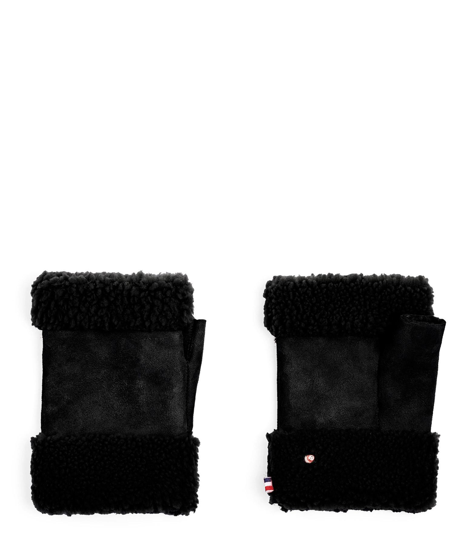 TOASTIES - Mitaines Laine Noir