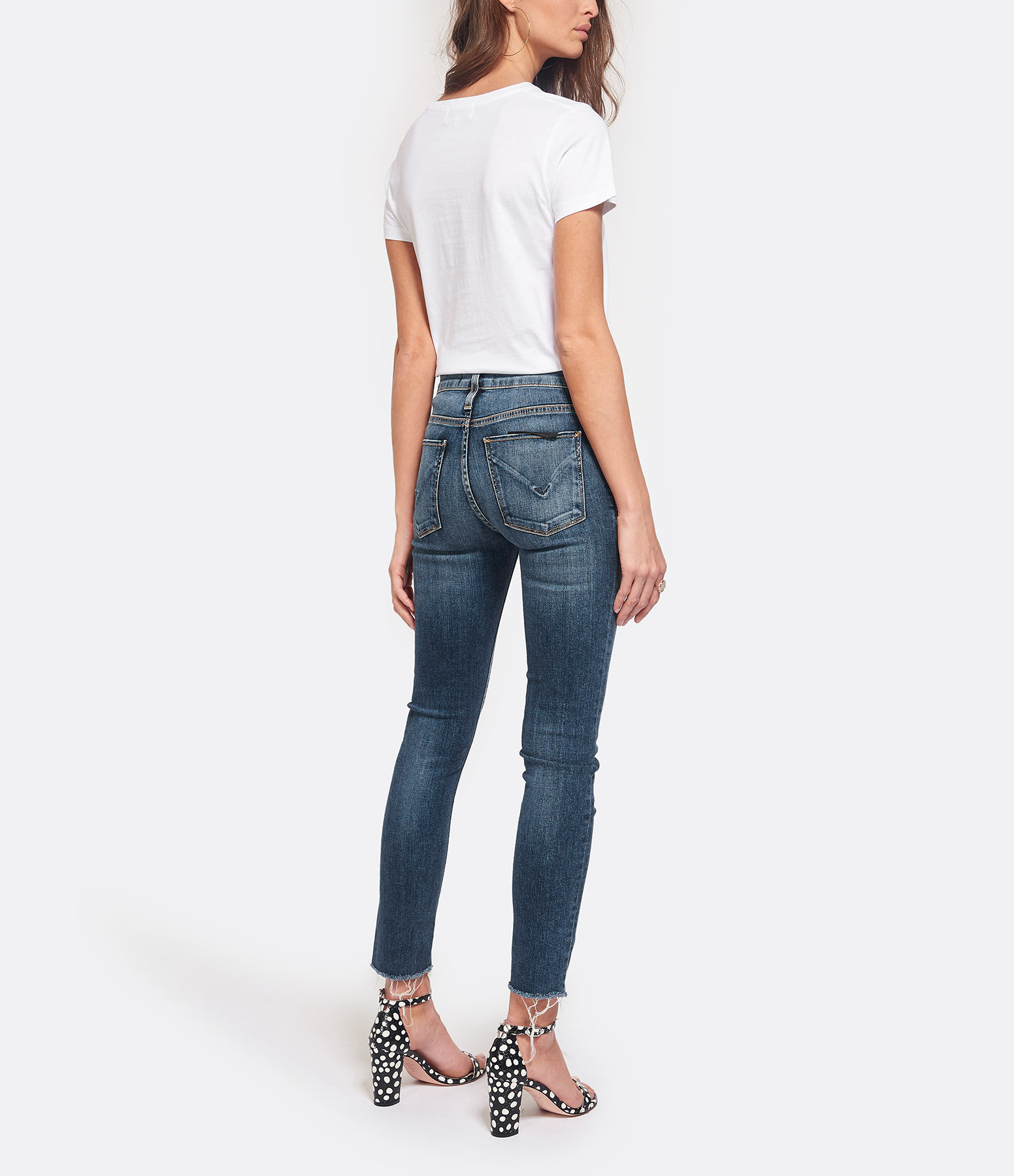 MAISON LABICHE - Tee-shirt Boyfriend Oui Non Coton Blanc Noir