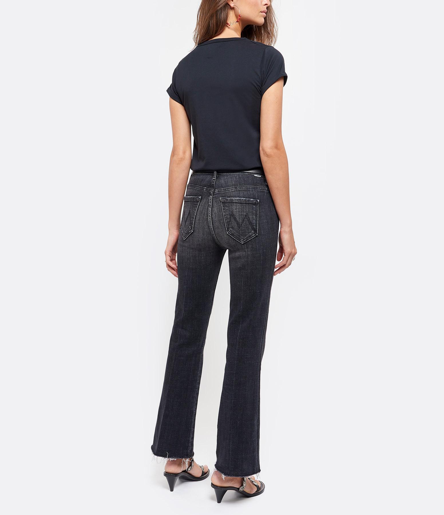 MAISON LABICHE - Tee-shirt Blondie Coton Noir Rouge