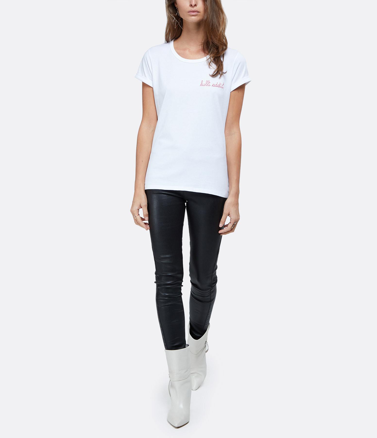 MAISON LABICHE - Tee-shirt Lulli Addict Blanc, Exclusivité Lulli x Maison Labiche