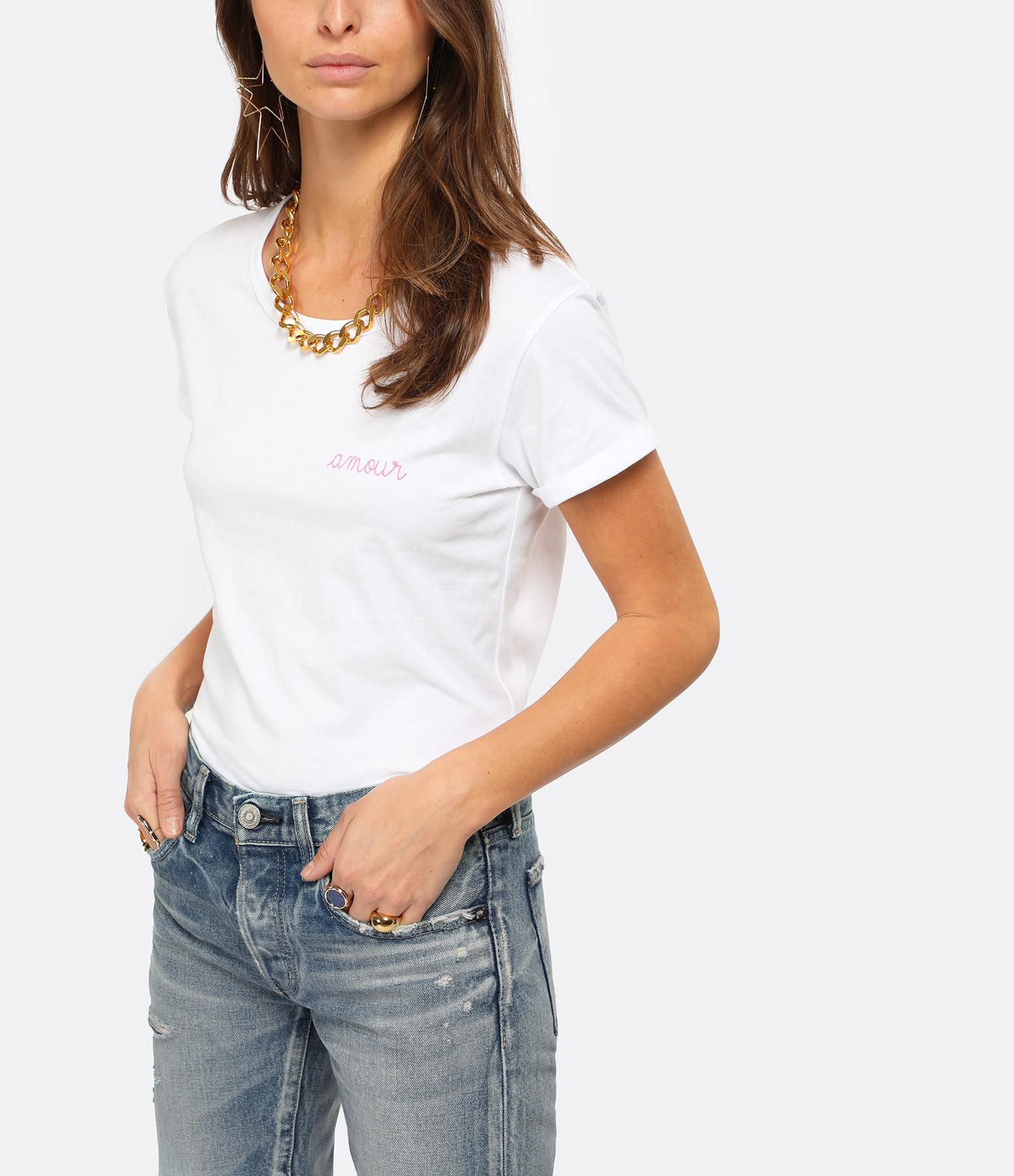 MAISON LABICHE - Tee-shirt Amour Blanc