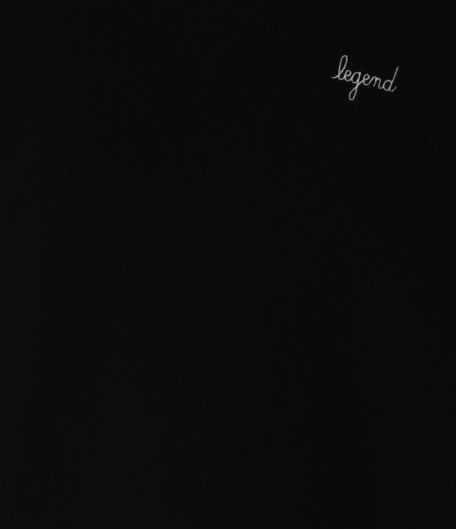 MAISON LABICHE - Pull Legend Laine Noir