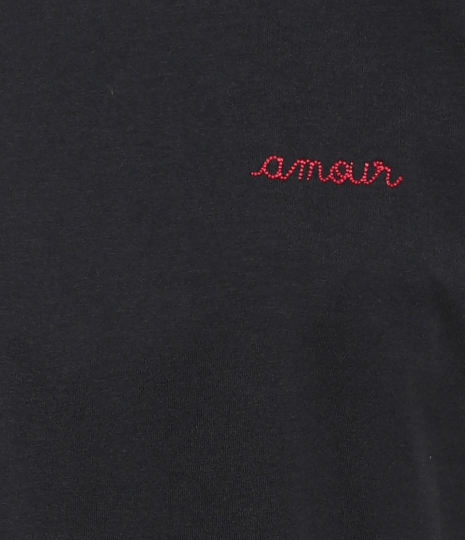 MAISON LABICHE - Tee-shirt Amour Noir