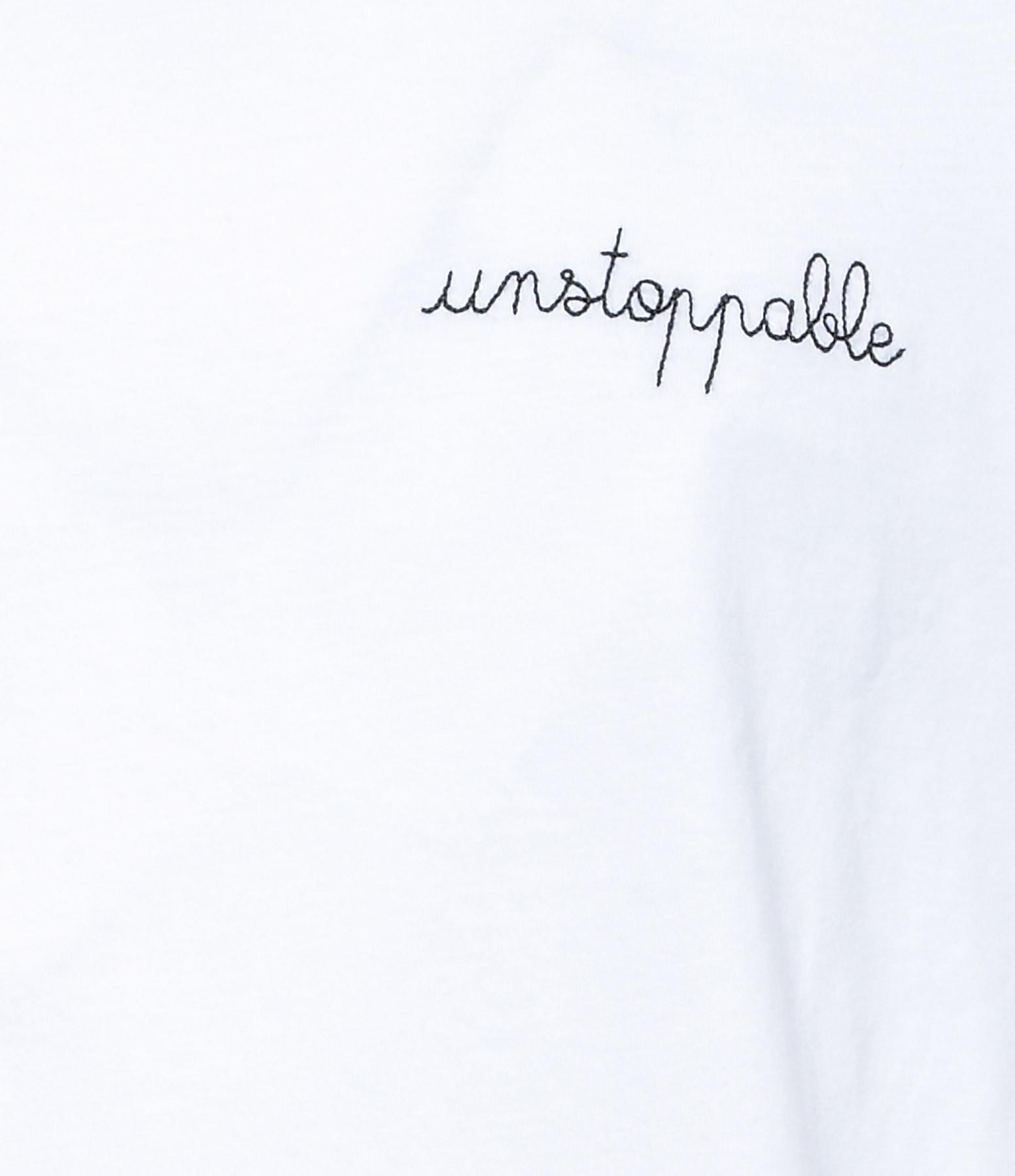 MAISON LABICHE - Tee-shirt  Unstoppable Blanc