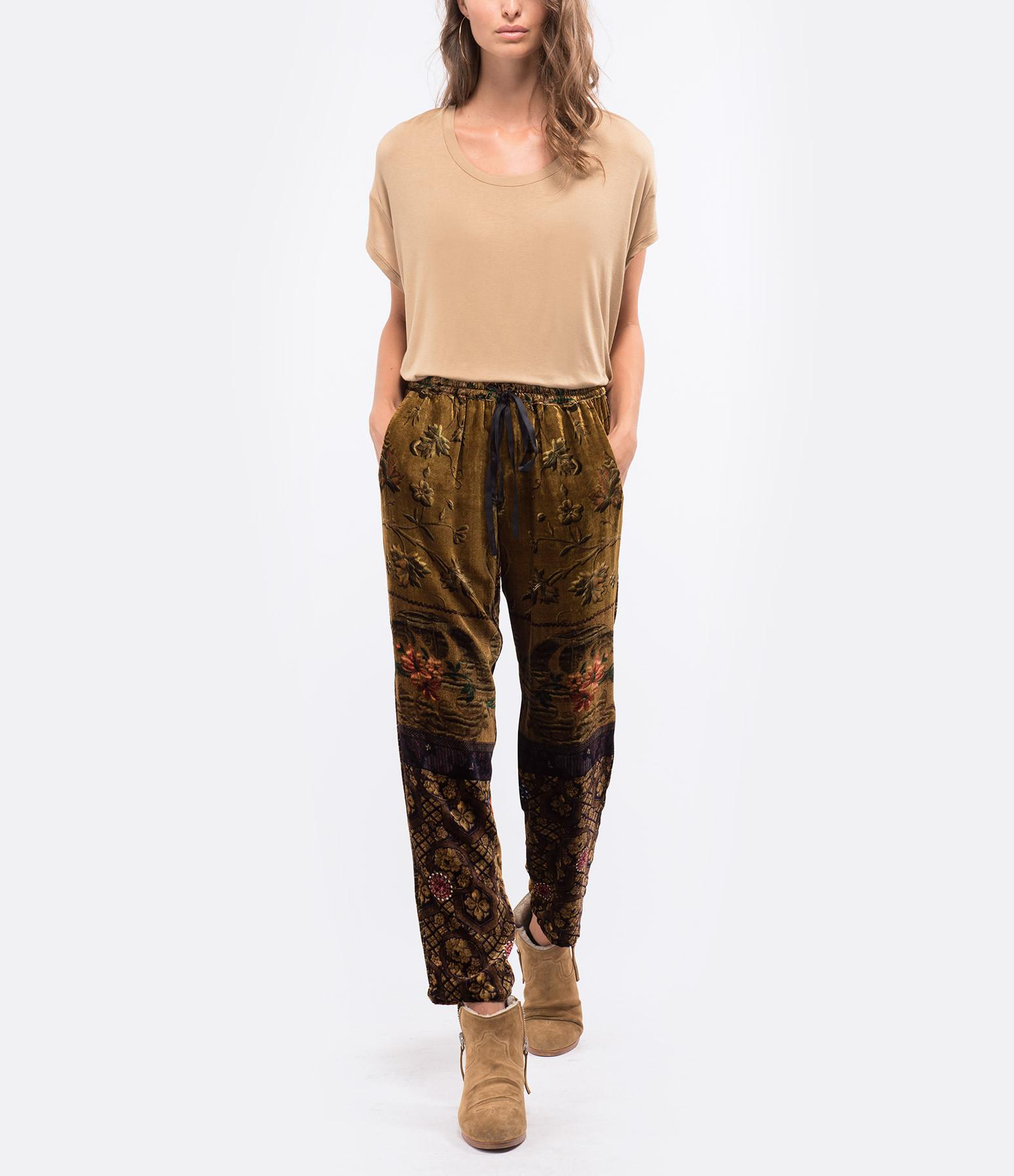 MARGAUX LONNBERG - Tee-shirt Marlow Coton Camel