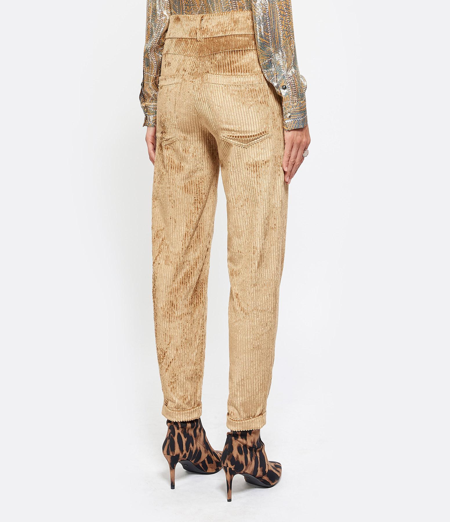 MARGAUX LONNBERG - Pantalon Jarvis Coton Camel
