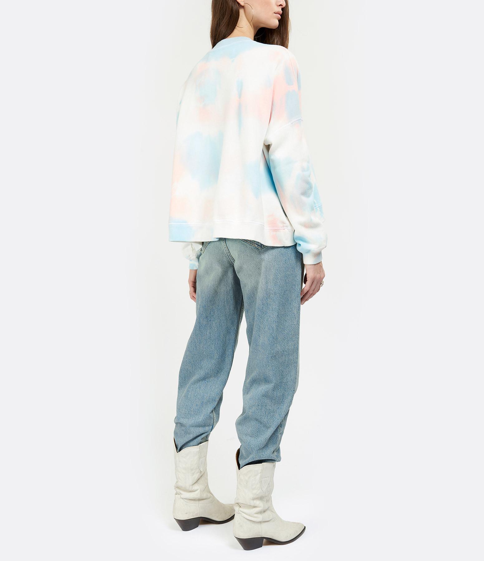 MARGAUX LONNBERG - Sweatshirt Sam Coton Tie & dye, Exclusivité Lulli