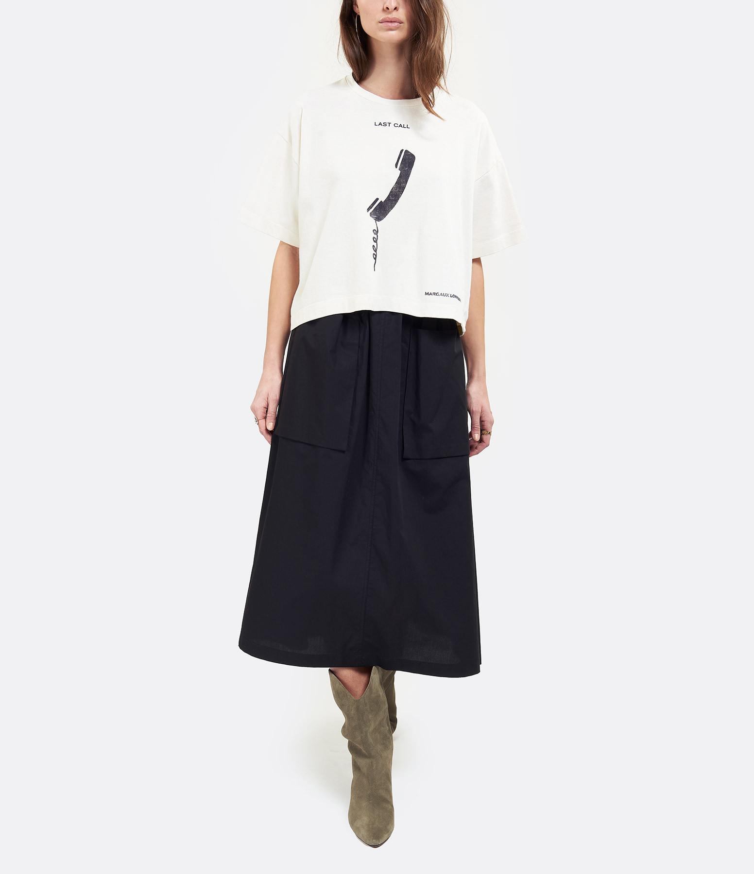 MARGAUX LONNBERG - Tee-shirt Brisa Last Call Imprimé Blanc
