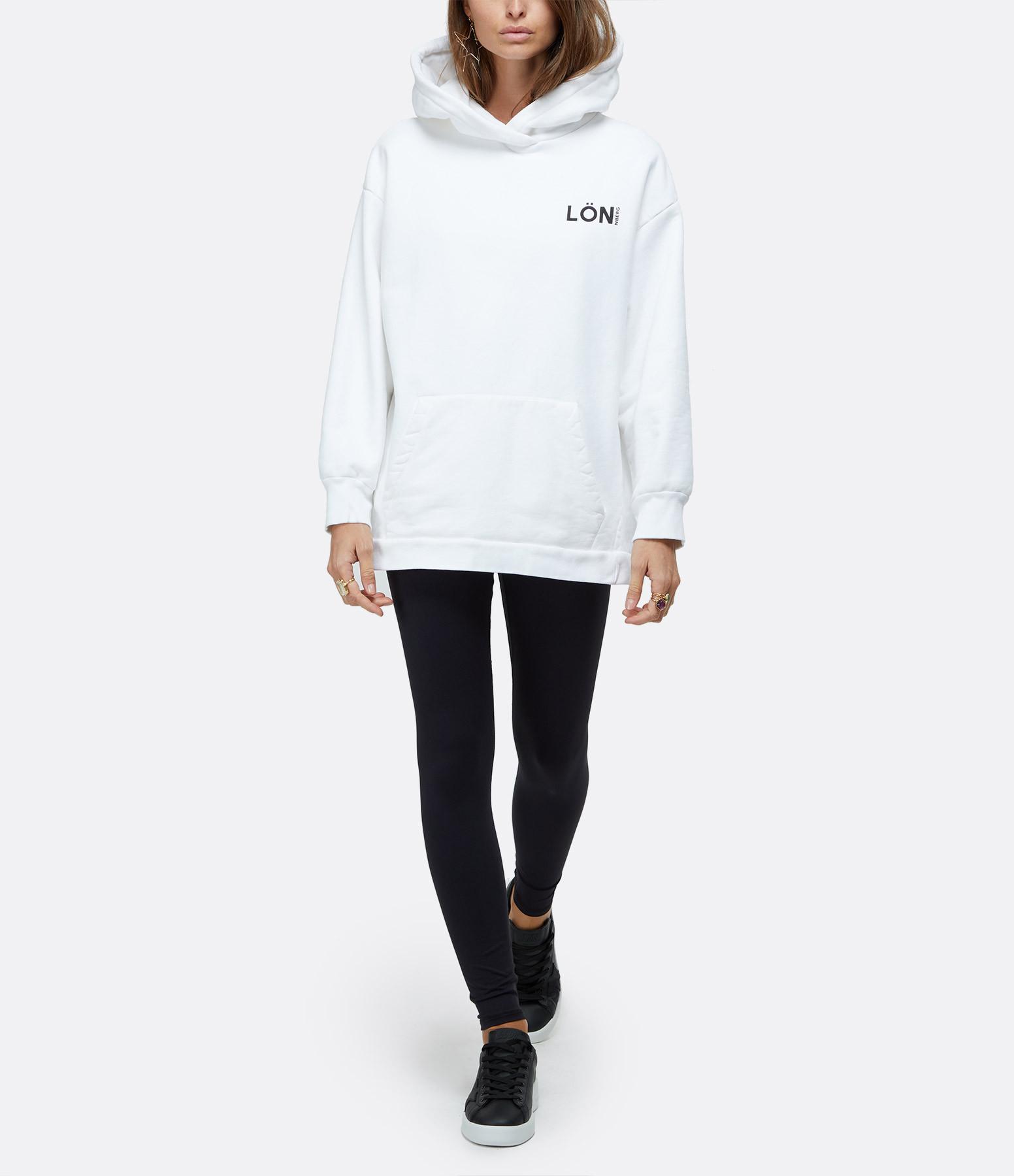 MARGAUX LONNBERG - Sweatshirt Parrish Blanc