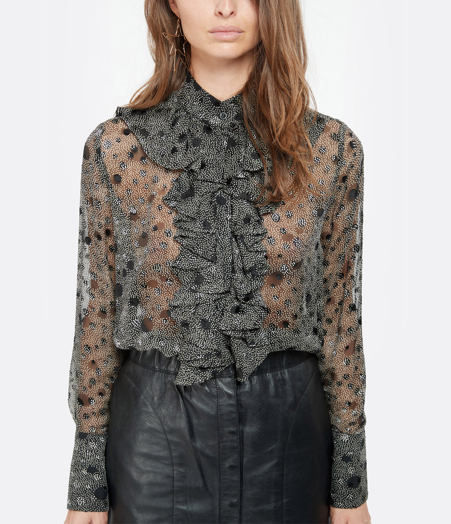 MARGAUX LONNBERG - Chemise Palma Noir