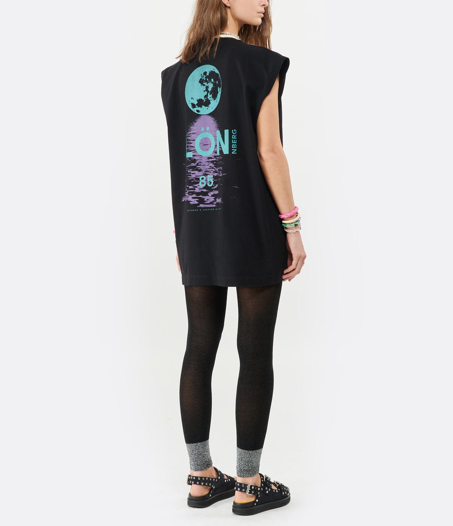 MARGAUX LONNBERG - Tee-shirt Rio Imprimé Noir