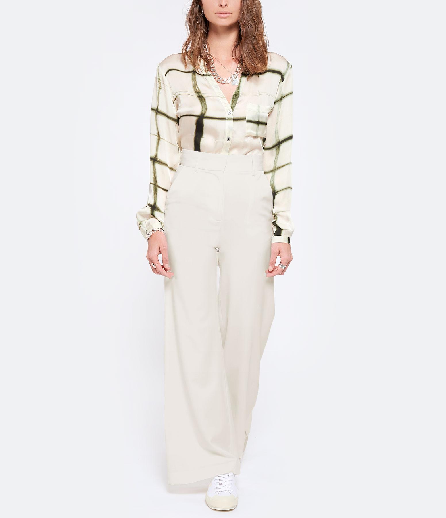 MARGAUX LONNBERG - Pantalon Ava Blanc